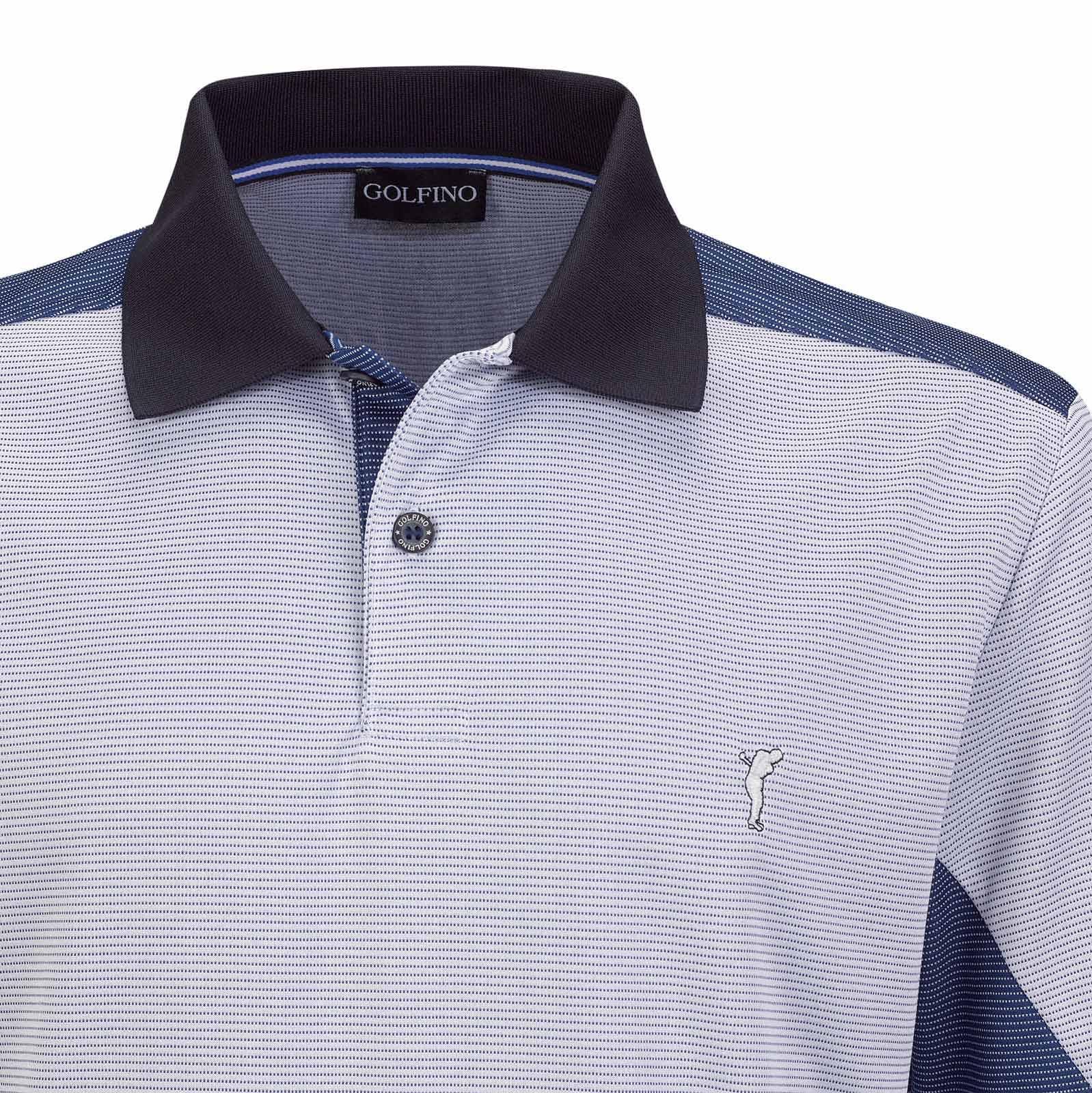 Atmungsaktives Herren Kurzarm Funktions-Golfpolo Quick Dry