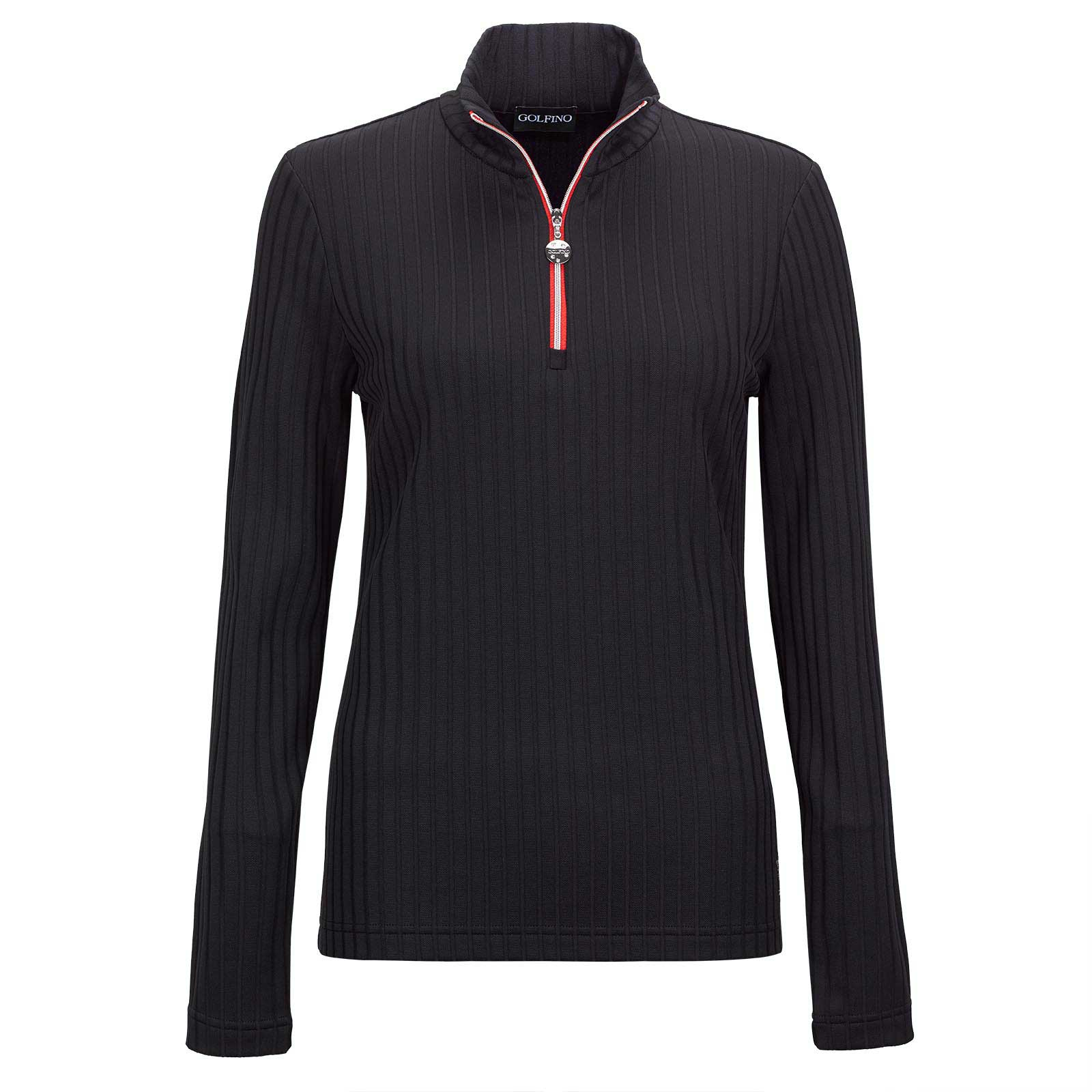 Ladies long-sleeve functional Arctic troyer base-layer with stretch function
