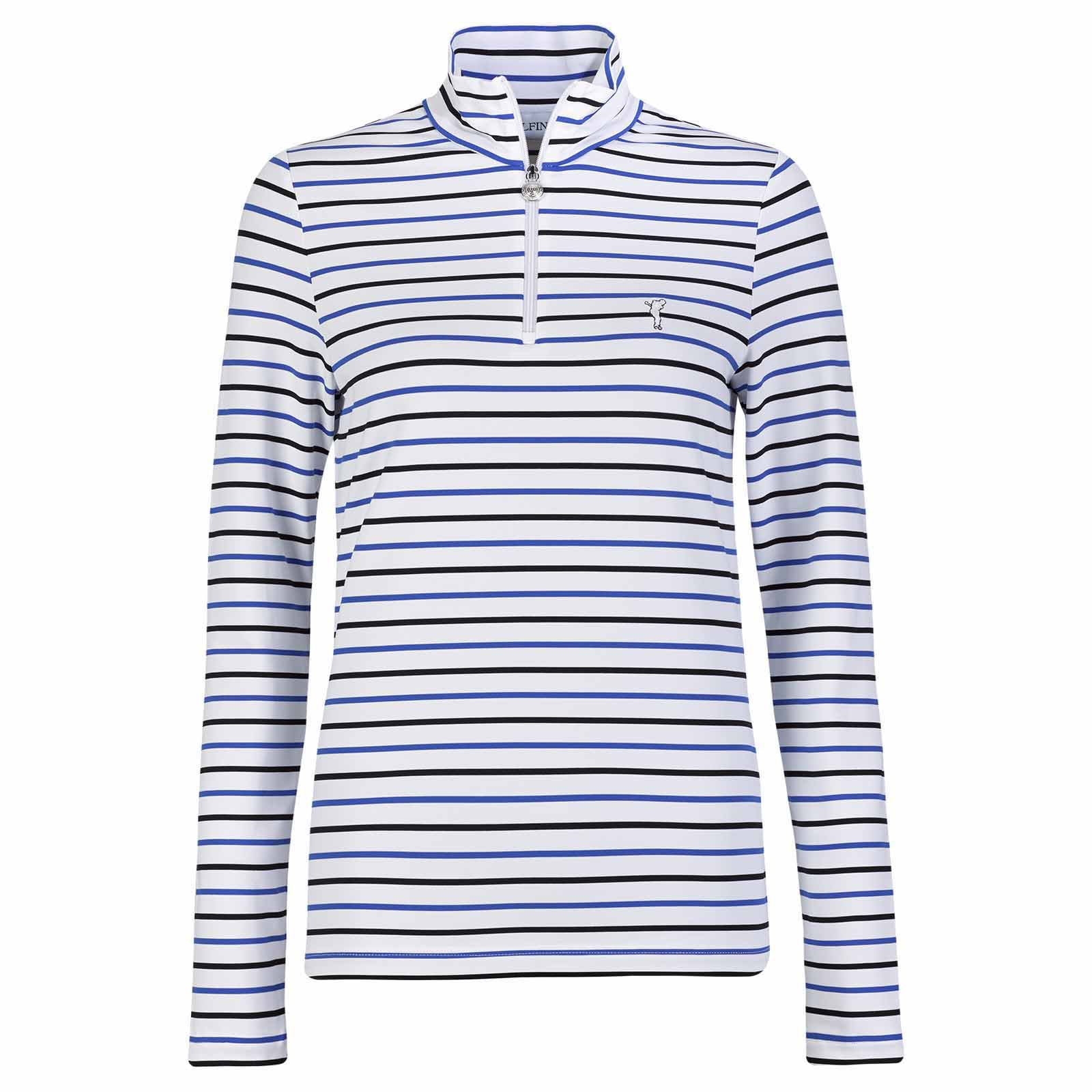 Striped long-sleeve ladies' Dry Comfort base layer