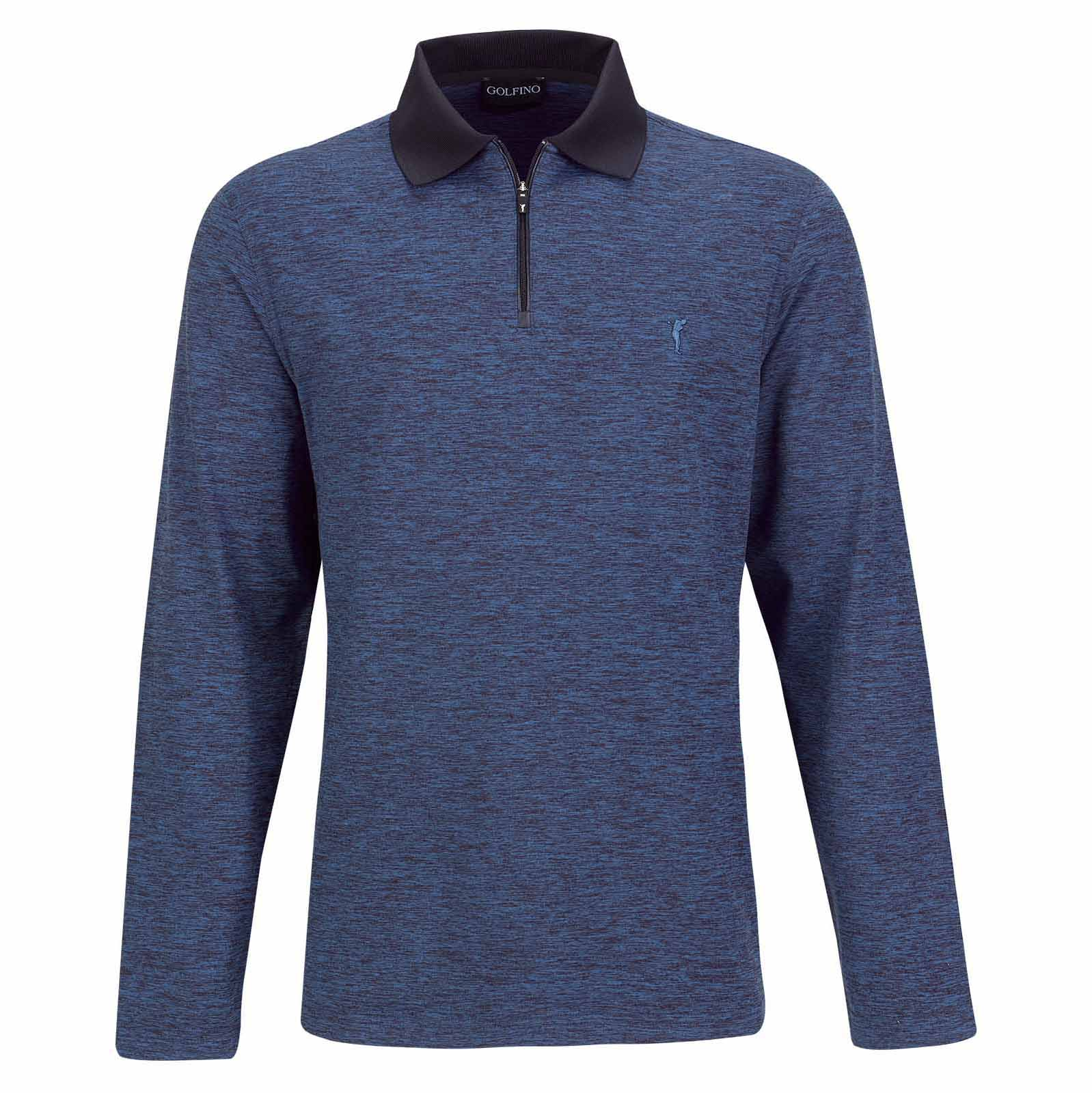 Herren Langarm Golf Resort Wear in Regular Fit