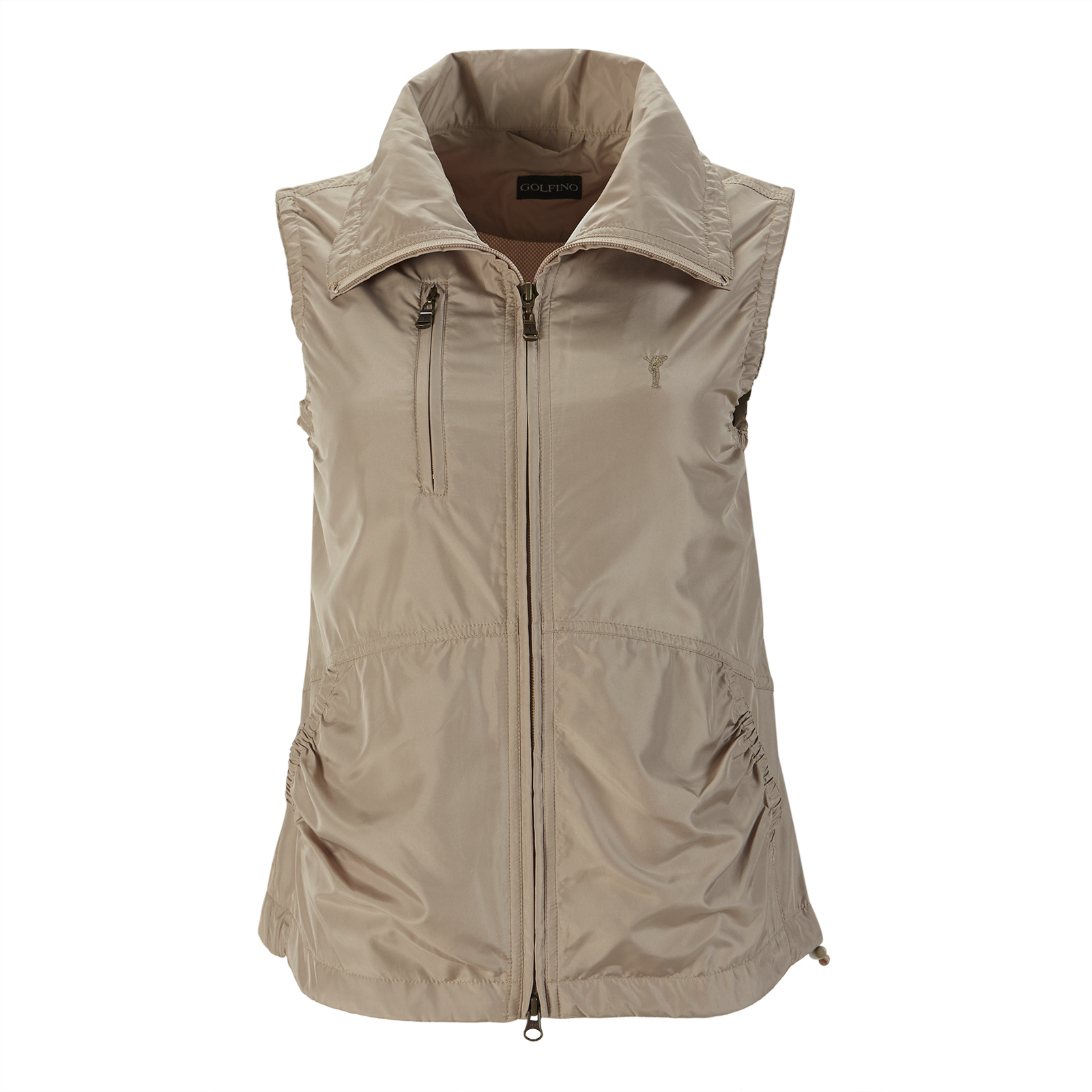 Damen Windprotection Golfweste