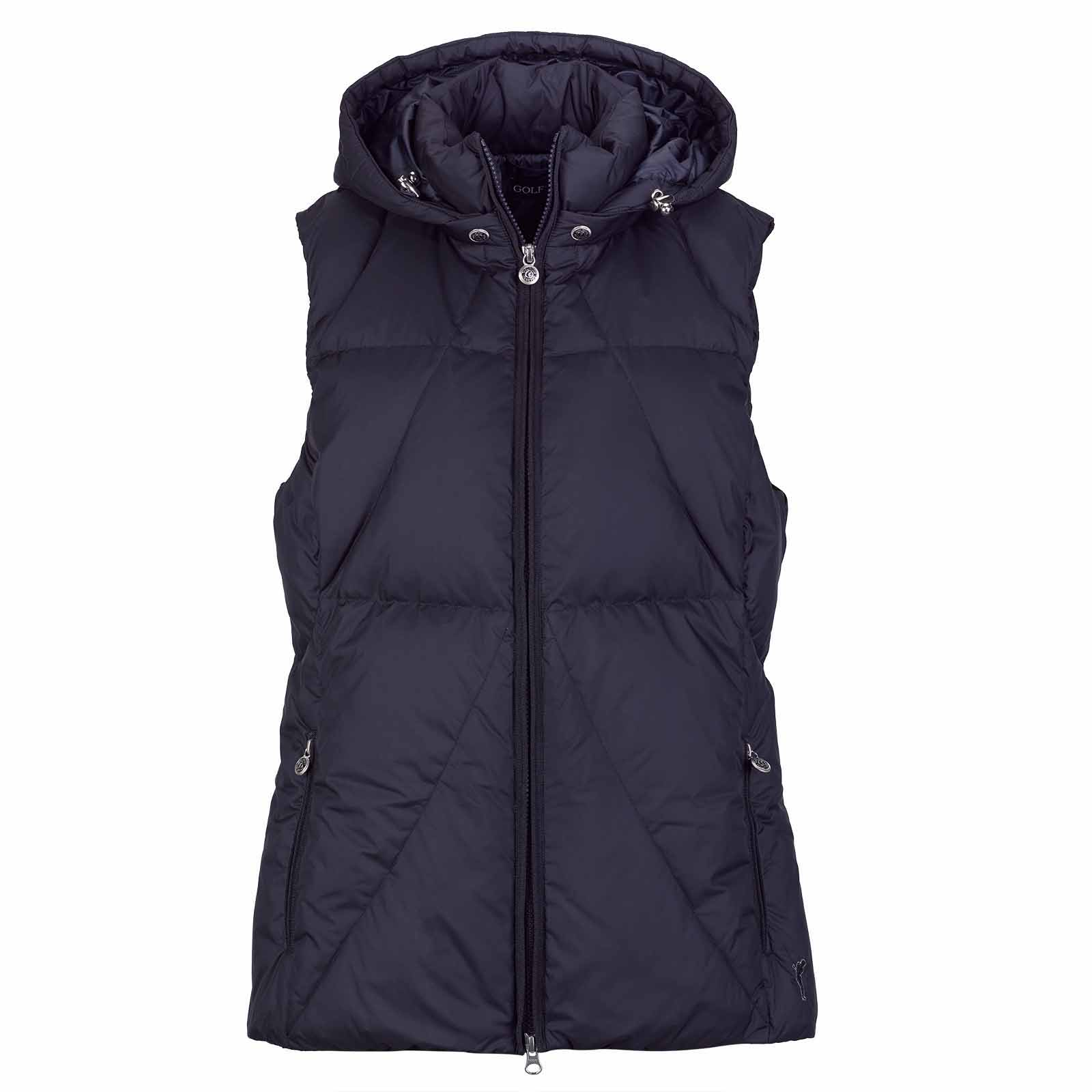 Ladies' Cold Protection golf waistcoat with down filling