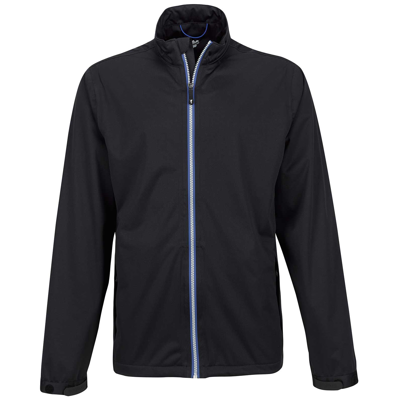 Water- and windproof men's lightweight rain jacket without hood