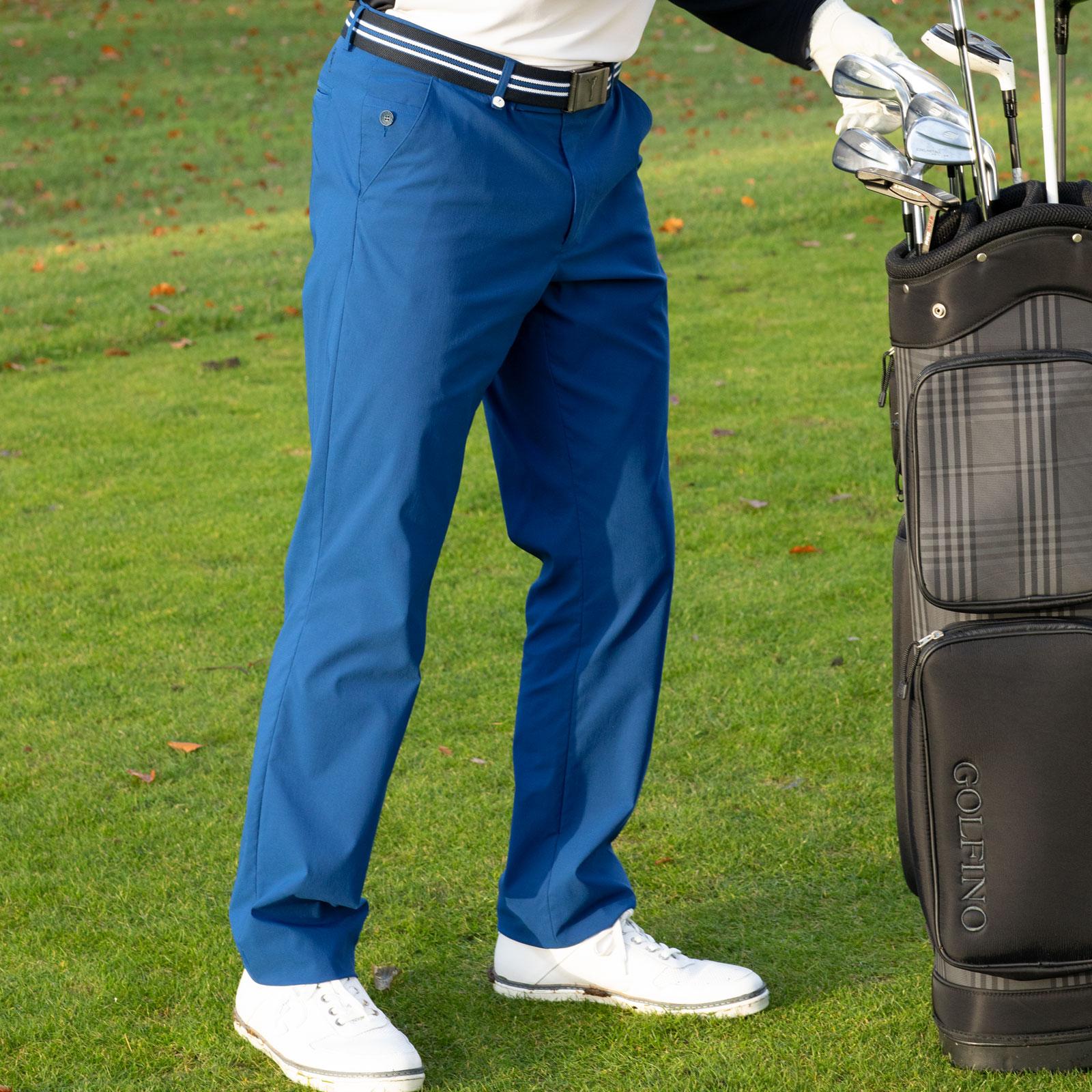 Herren 4-Way-Stretch Golfhose mit Sofileta® UV-Protection