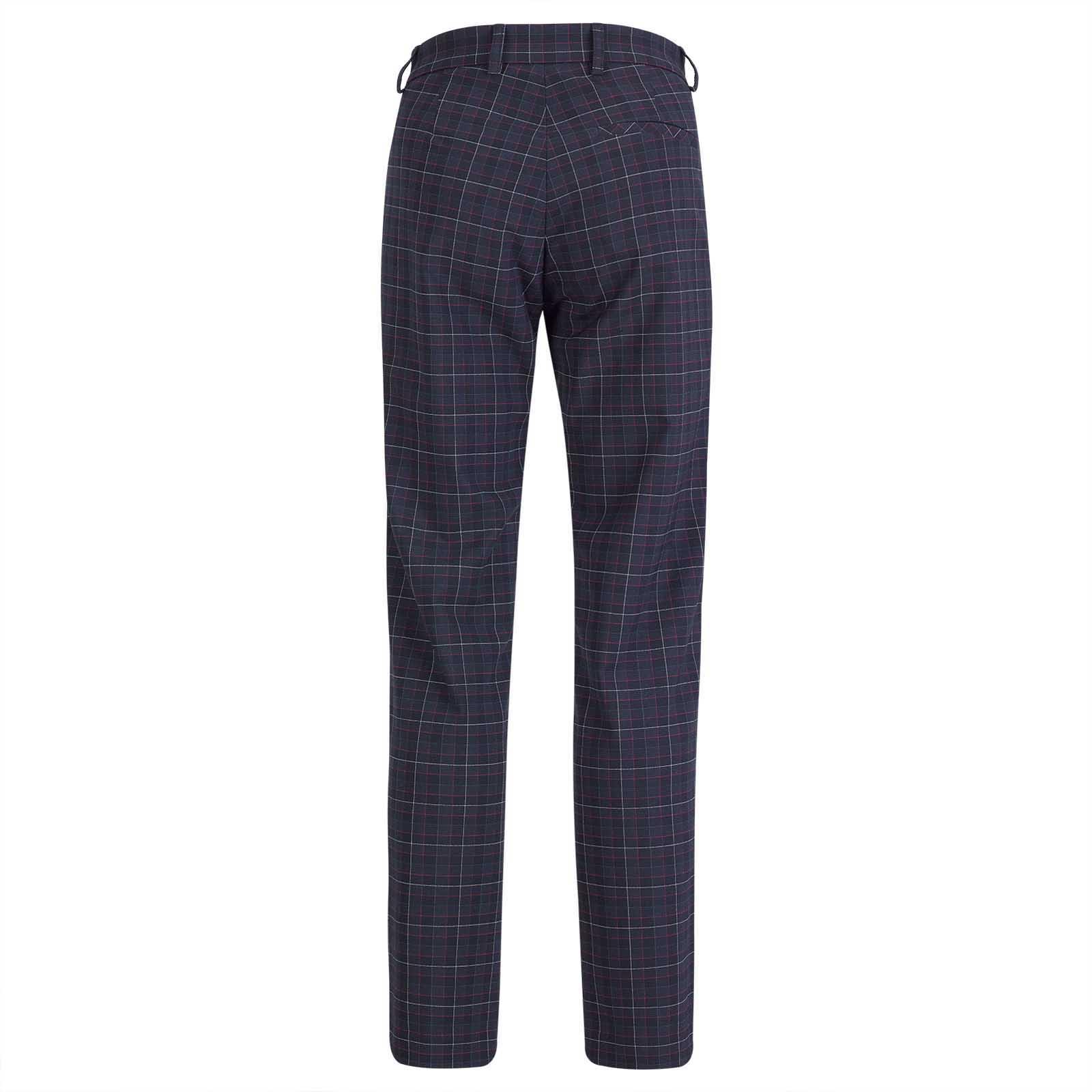 Damen Karo-Golfhose in 7/8 Länge aus softem Stretchmaterial