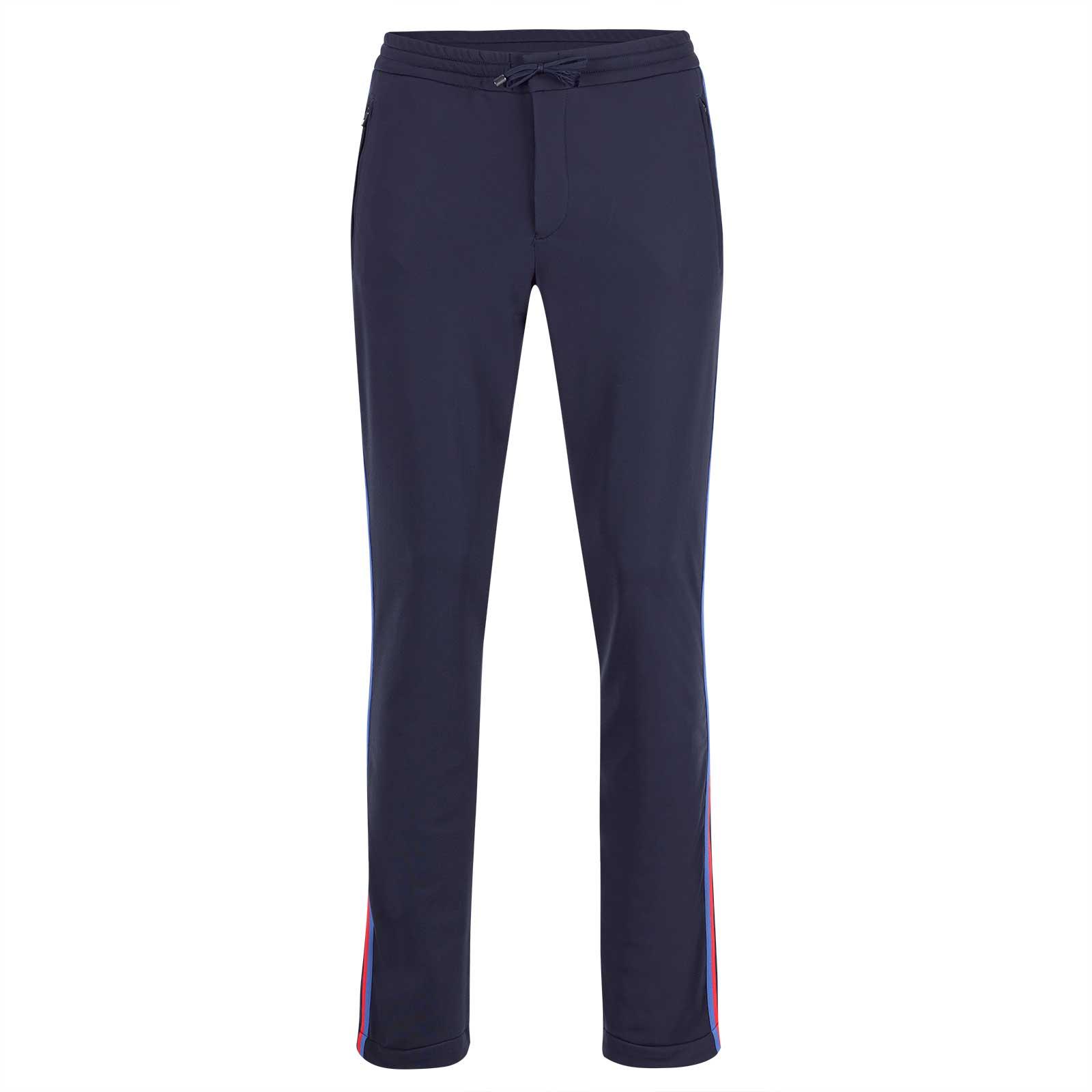 Herren Slim Fit Comfort Golfhose mit 4-Way-Stretch und elastischem Bund