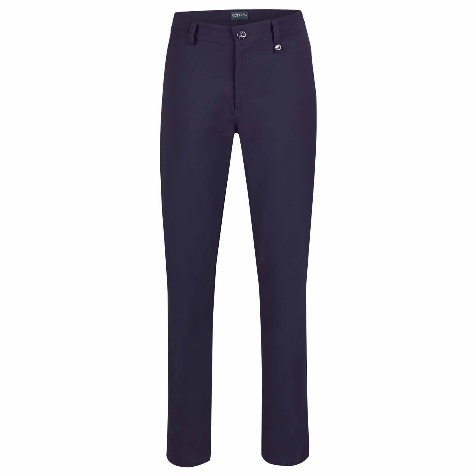 Water repellent 7/8 ladies' golf trousers