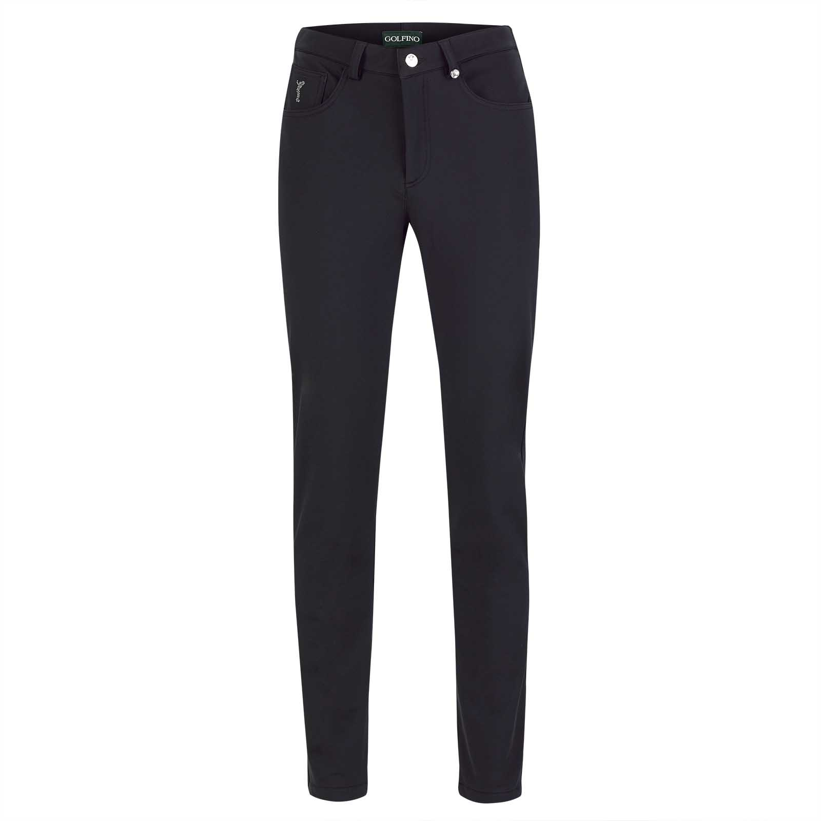 Extra Soft 5-pocket ladies' slim fit golf trousers in 4-way stretch