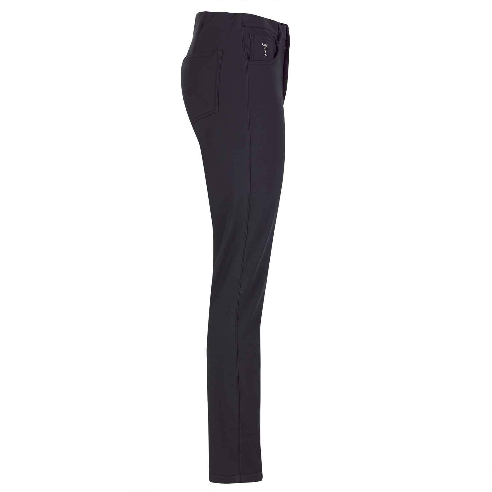Extraweiche 5 Pocket Damen Slim-Fit Golfhose aus 4-Way-Stretch