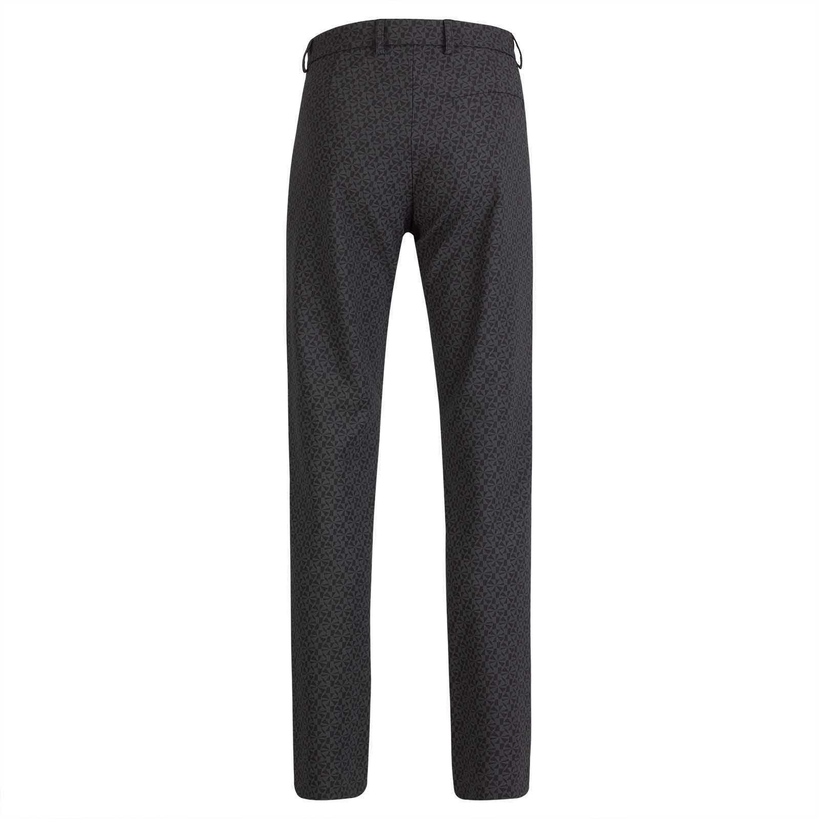 Damen 7/8 Print-Golfhose aus 4-Way-Stretch mit modischem Muster