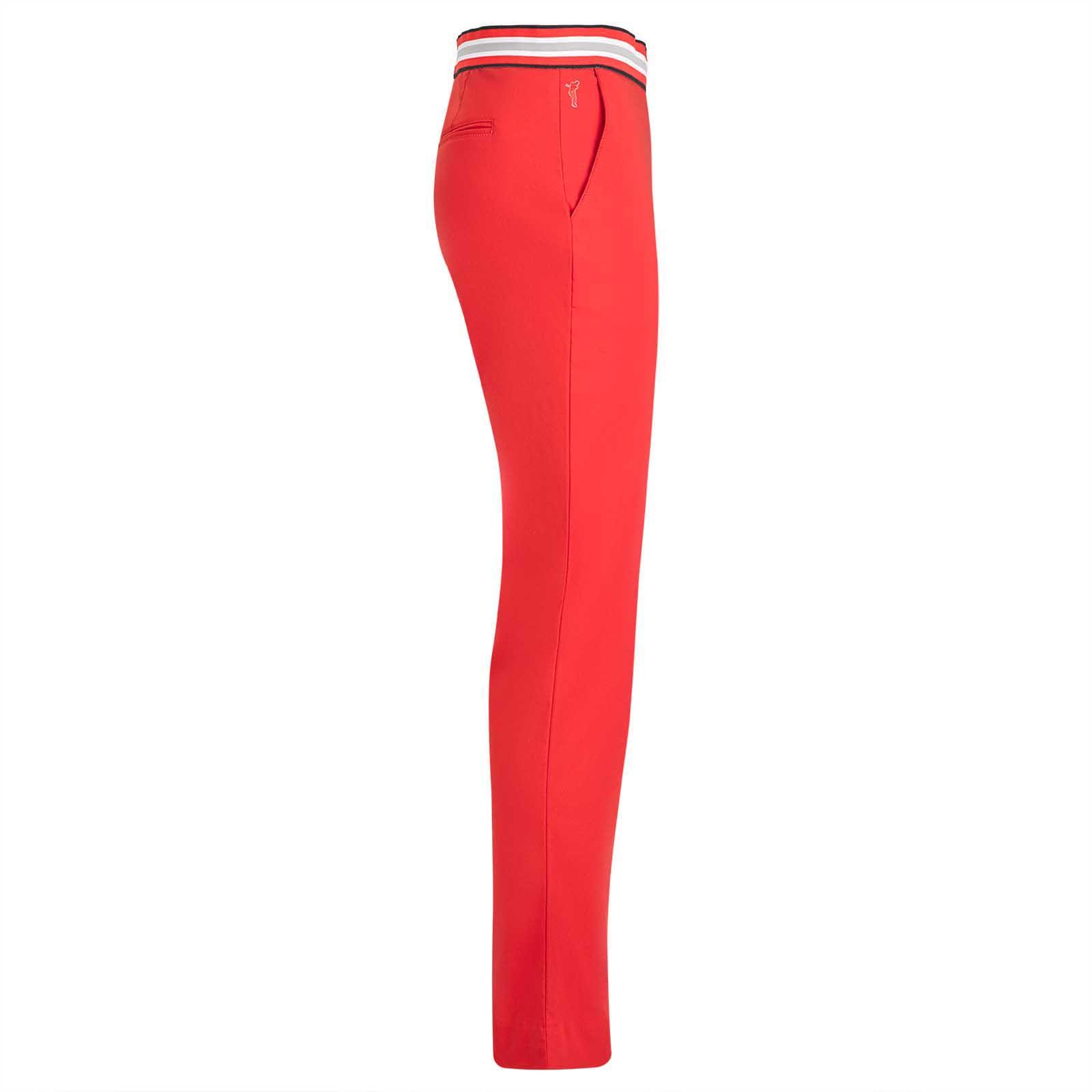 Wasserabweisende Damen 7/8 Golfhose aus Techno-Stretch mit UV-Schutz