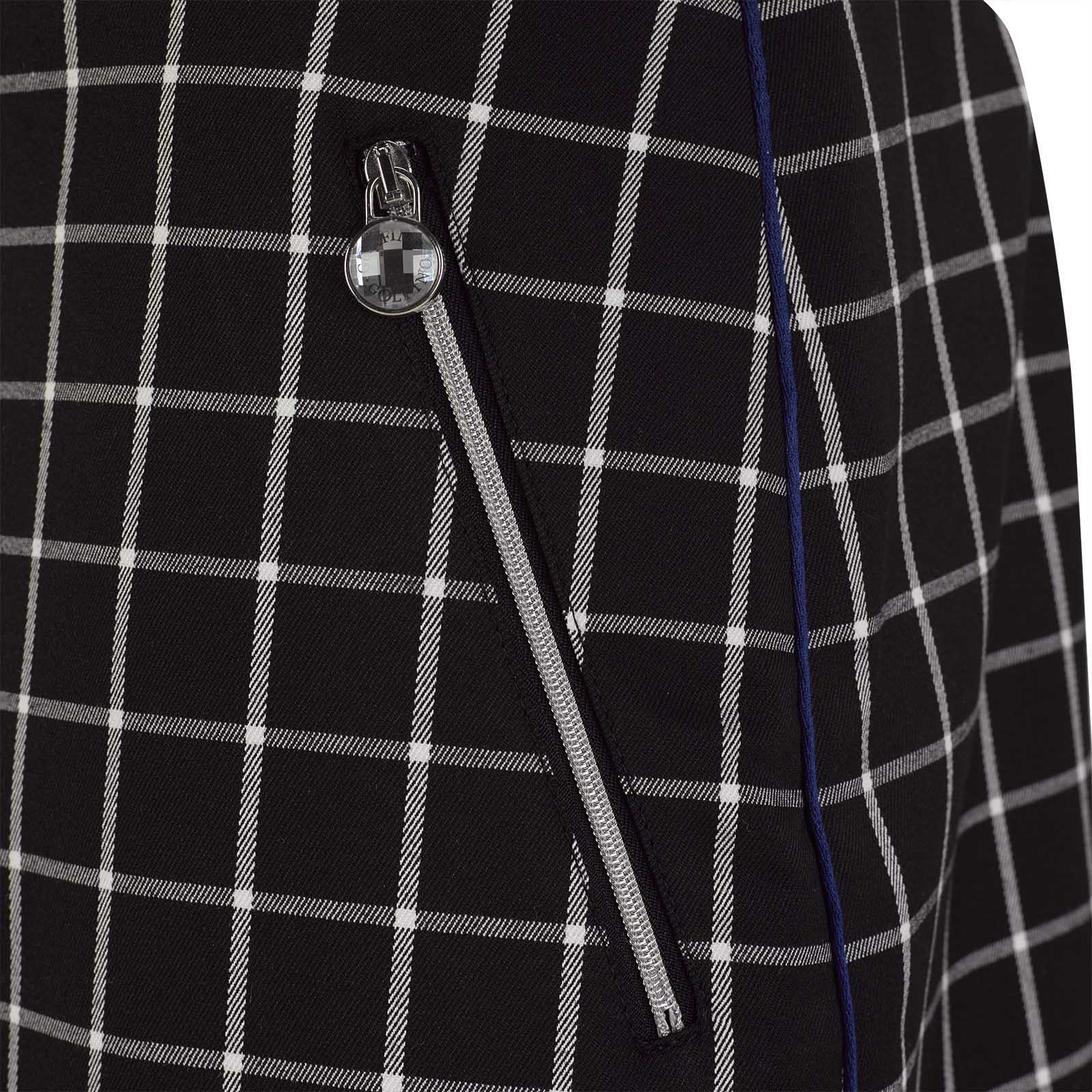 Damen Medium Karo-Golfrock aus Quick Dry Funktionsmaterial