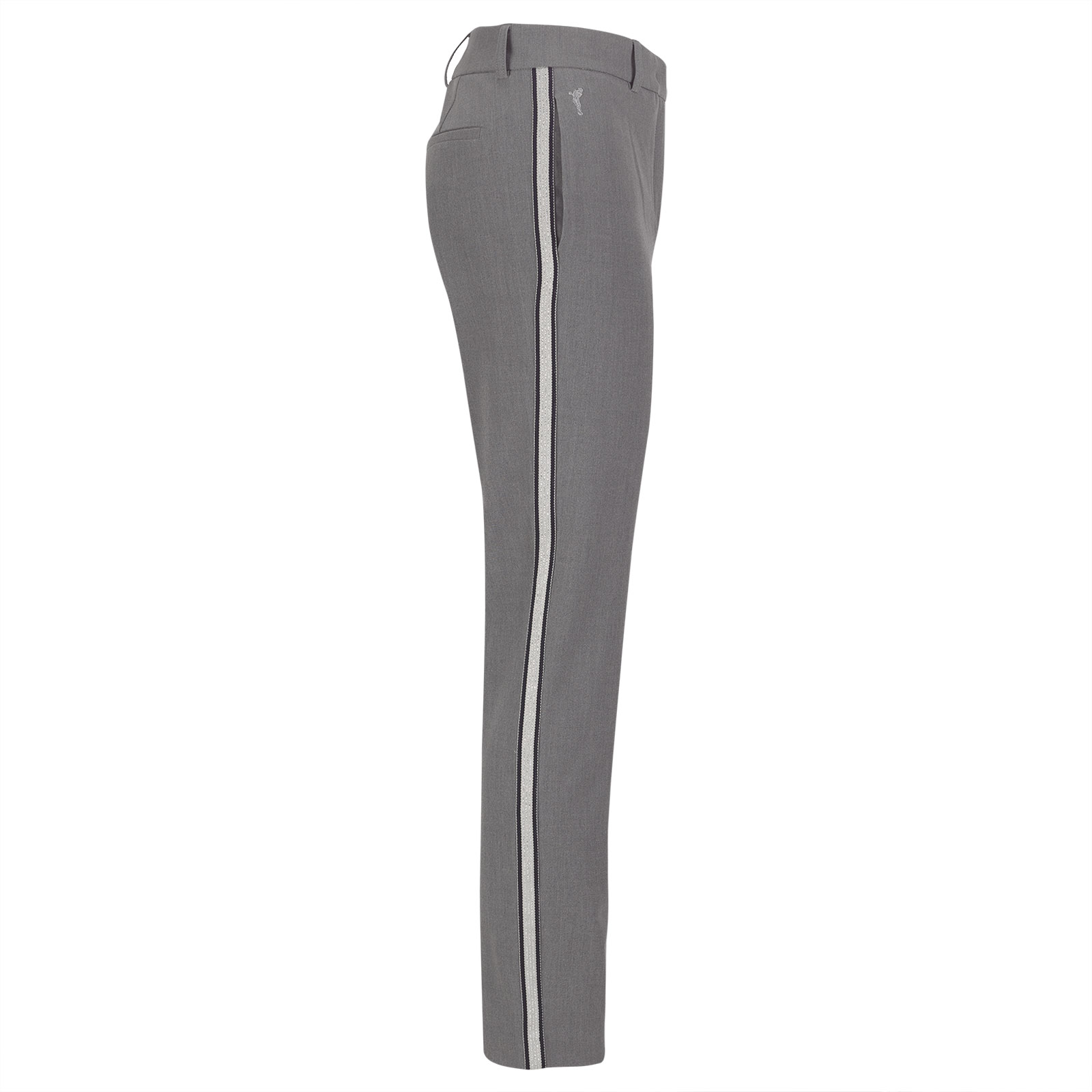 Softe Damen 7/8 Golfhose mit Galonstreifen und 4-Way-Stretch