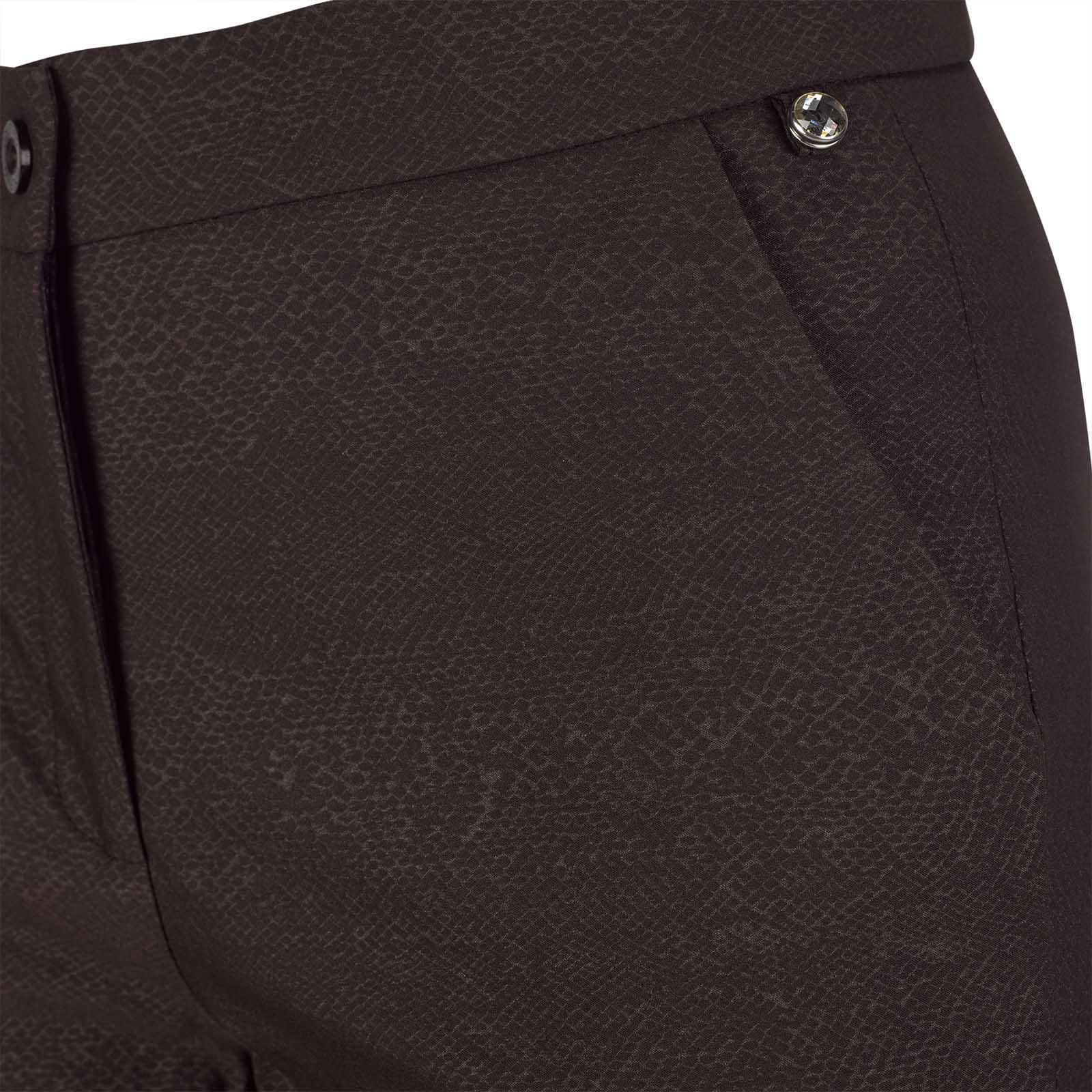Damen Techno-Stretch Hose mit Schlangenhautmuster