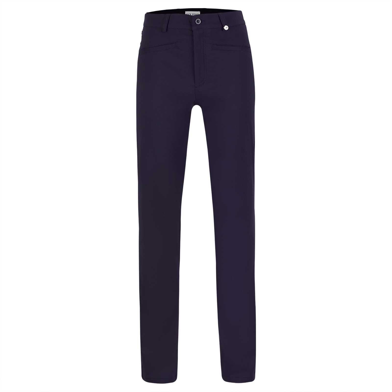 Ladies' techno stretch golf trousers made from exclusive functional material