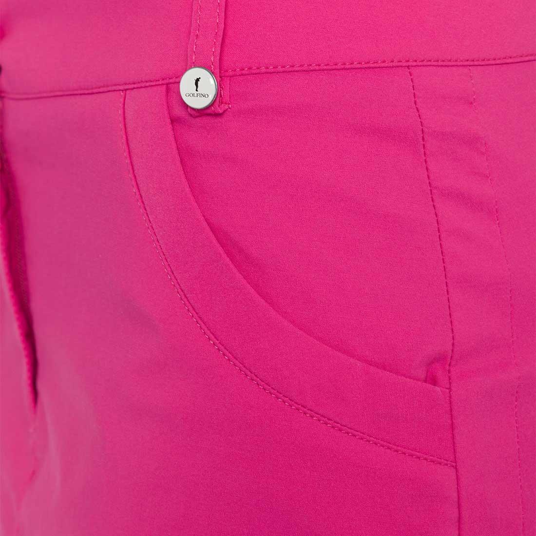 Sofiguard Damen Medium Golfskort aus Techno-Stretch mit Sun Protection