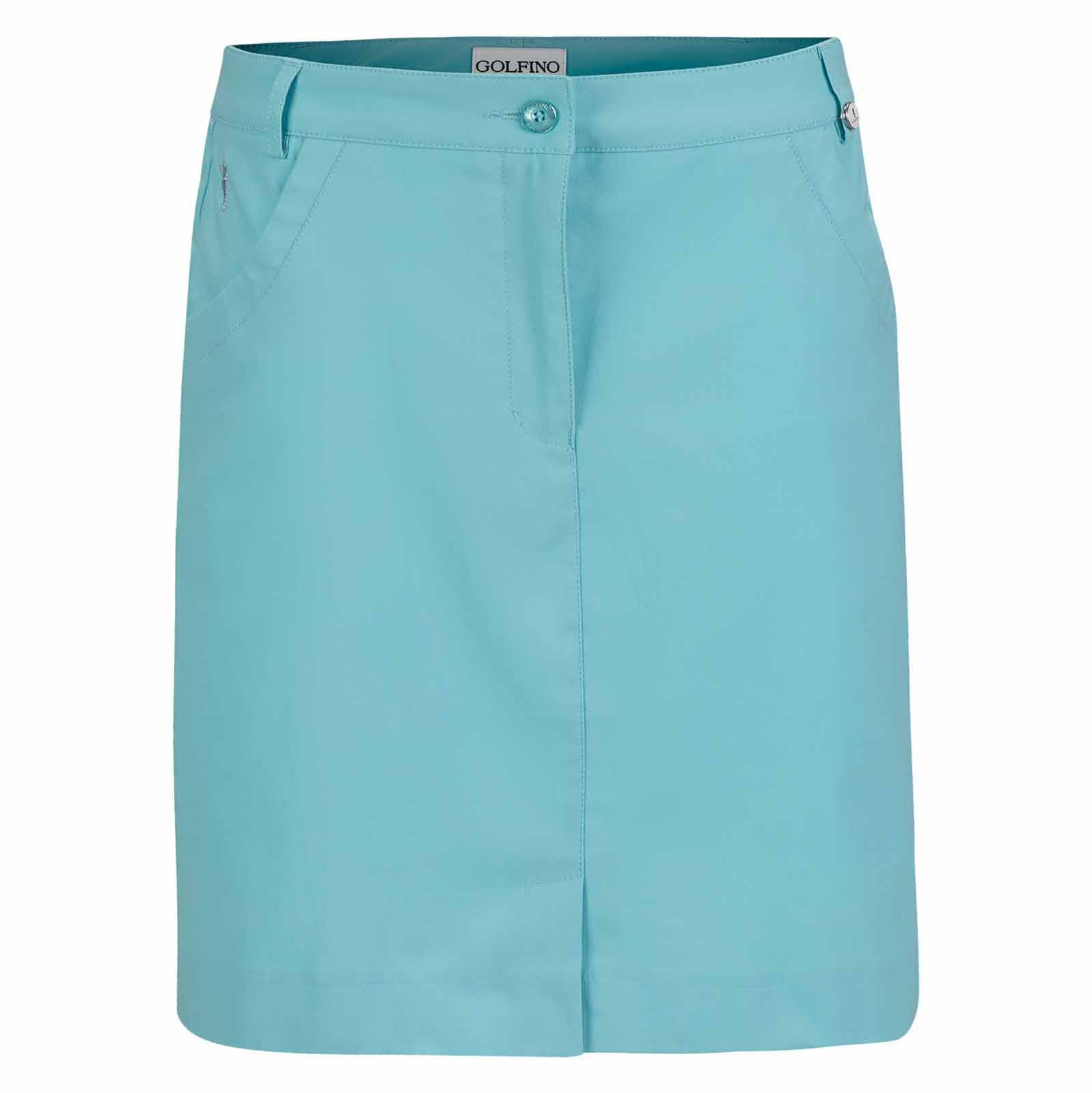 Falda pantalón de golf mediana Sofiguard de mujer de Techno-Stretch con Sun Protection
