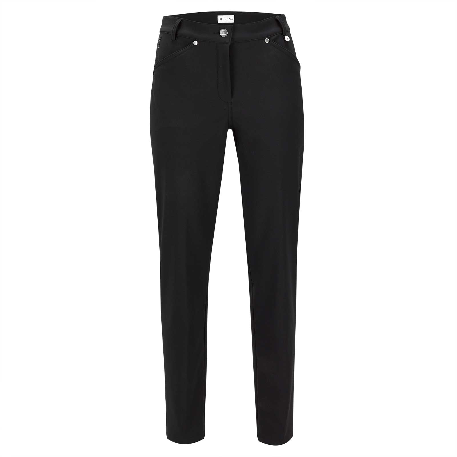 Modern 7/8 ladies' 4-way stretch Thermo golf trousers in slim fit