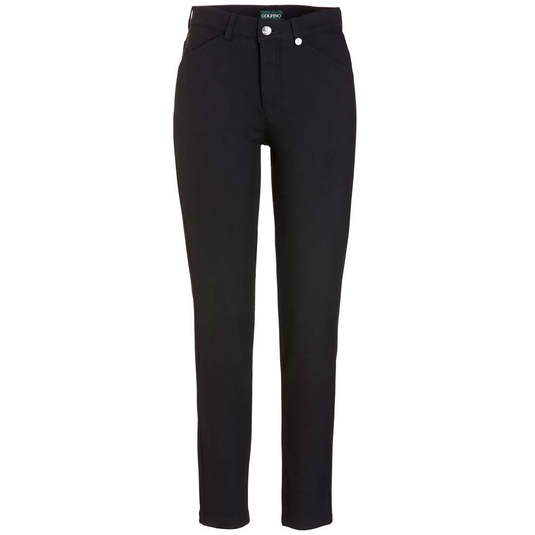 Ladies' Tech tweed 7/8 stretch Cold Protection golf trousers