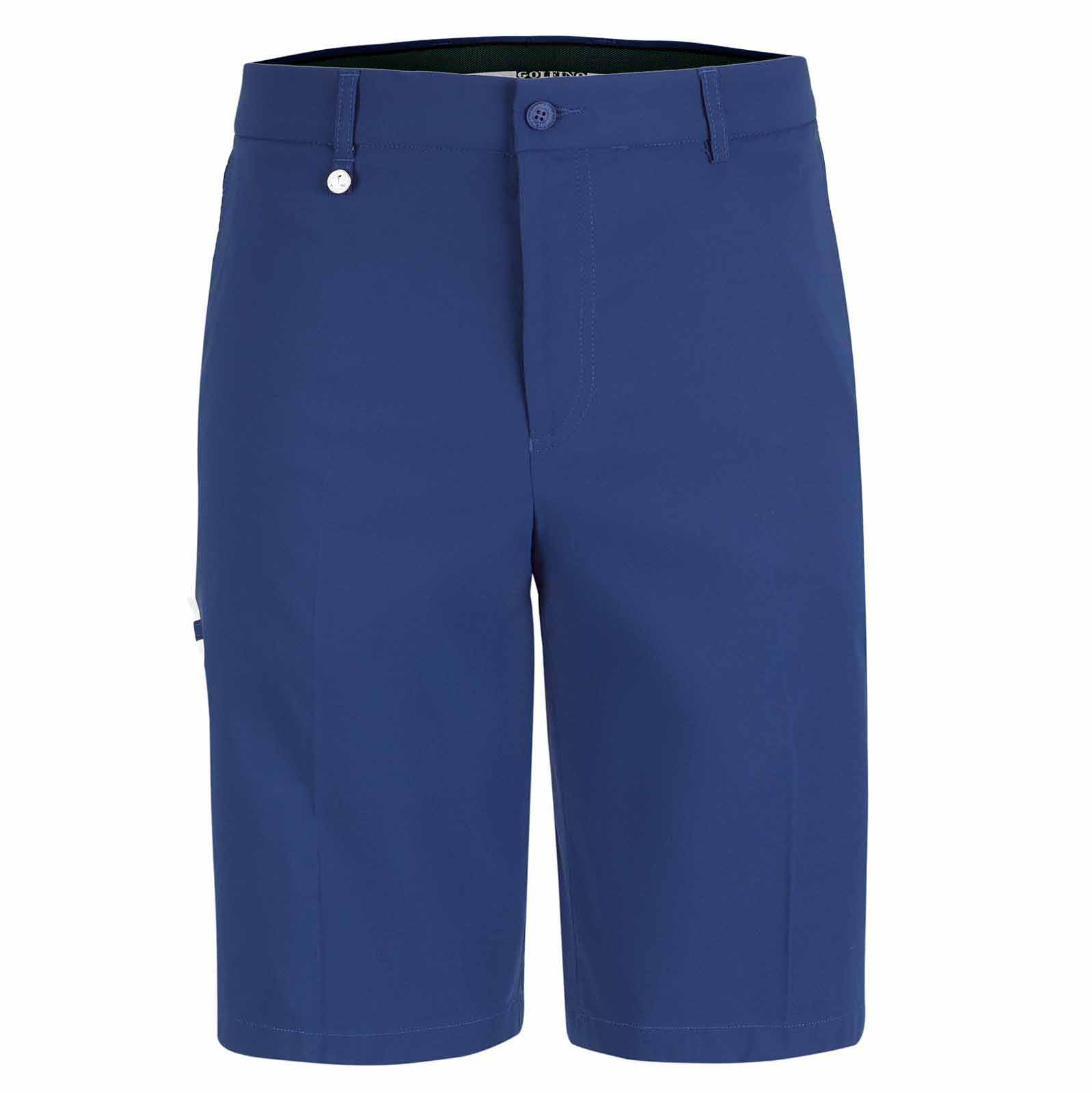 Light Techno Stretch Herren Golf-Bermuda Sun Protection in Regular Fit