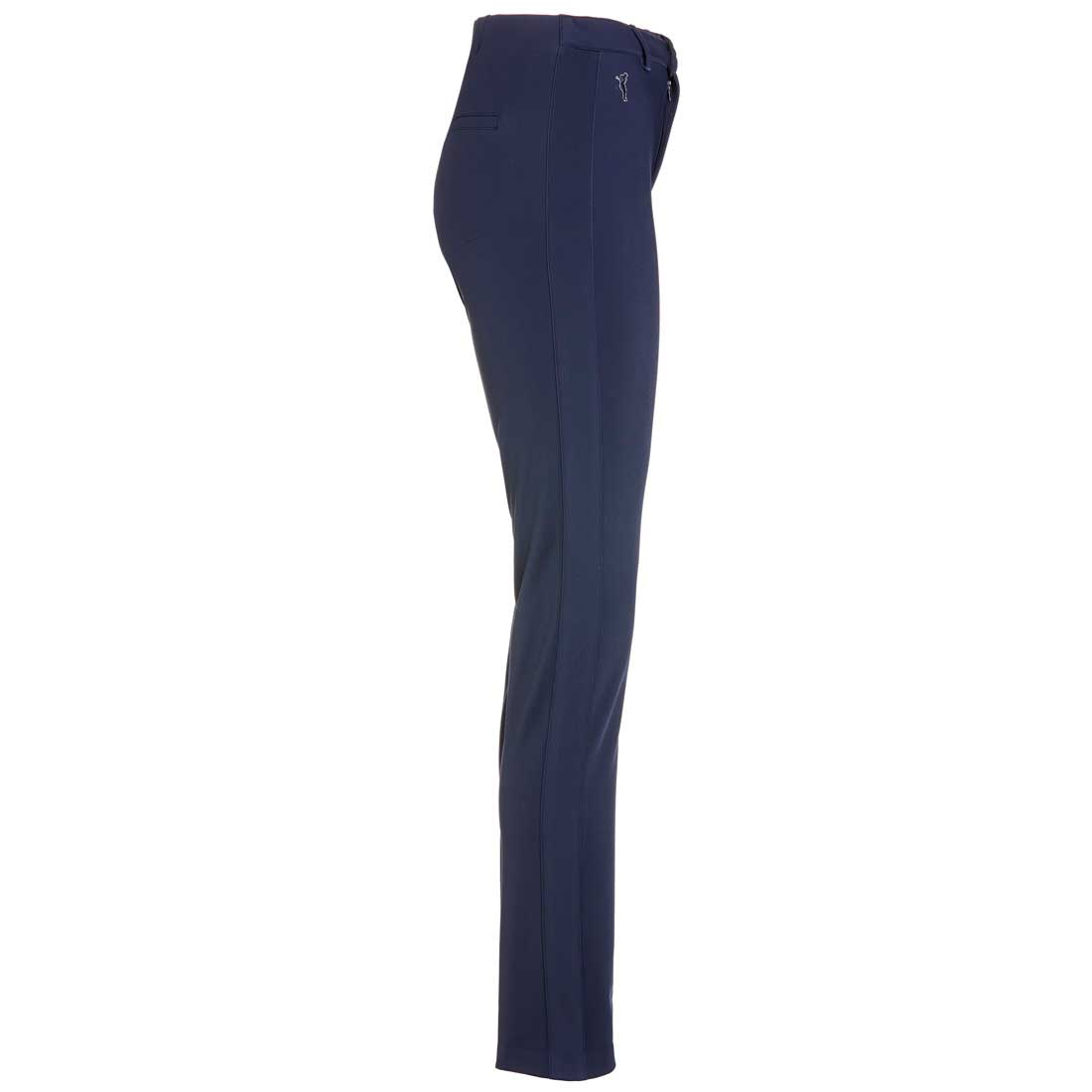 Sehr bequeme 4-Way-Stretch Damen Golfhose in Slim Fit long