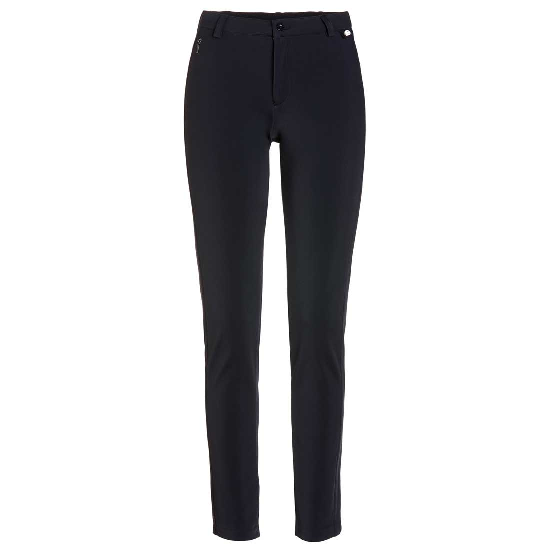 Extremely comfortable 4-way stretch ladies' golf trousers in slim fit long