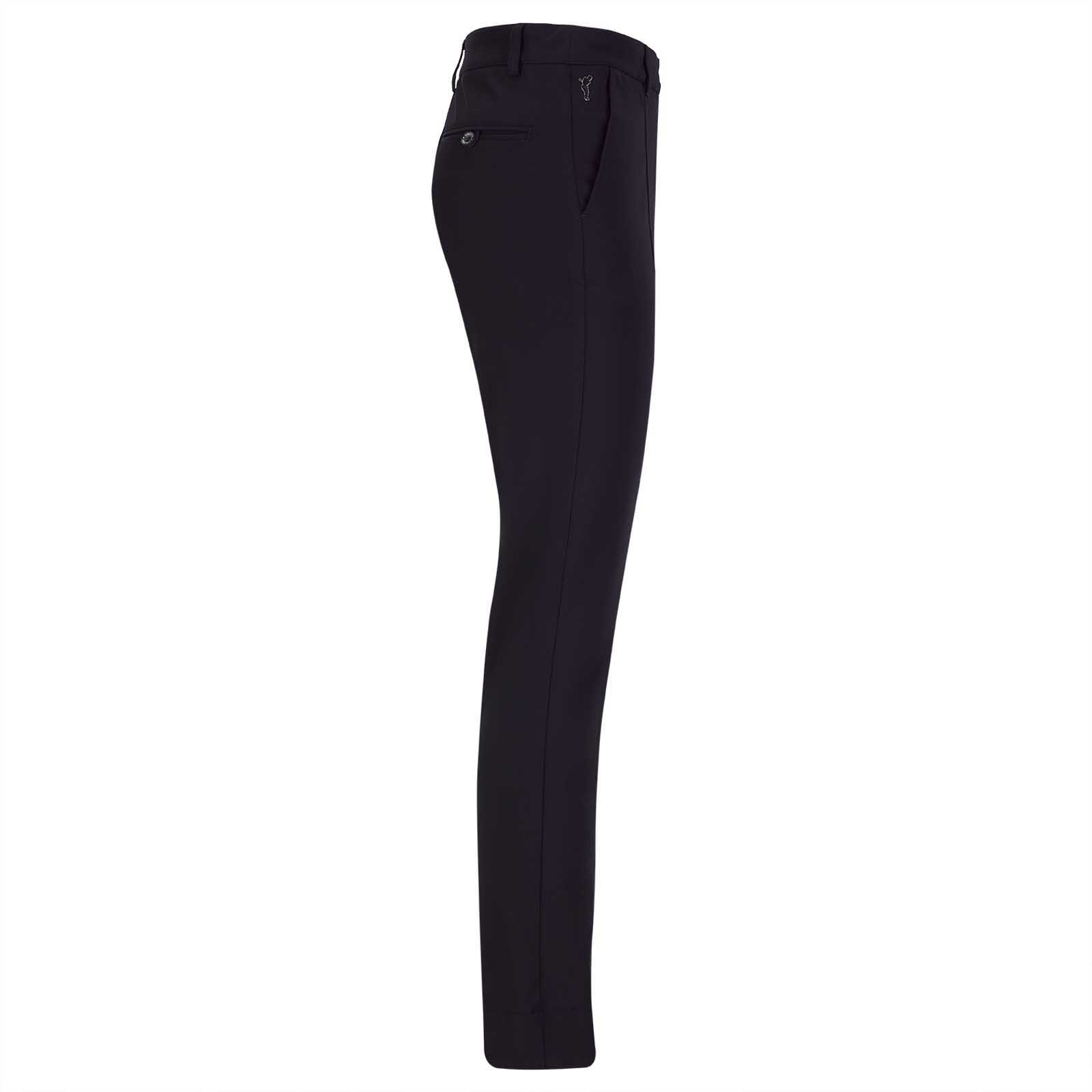 Damen Stretch Golfhose aus feinem Cotton-Blend in Slim Fit