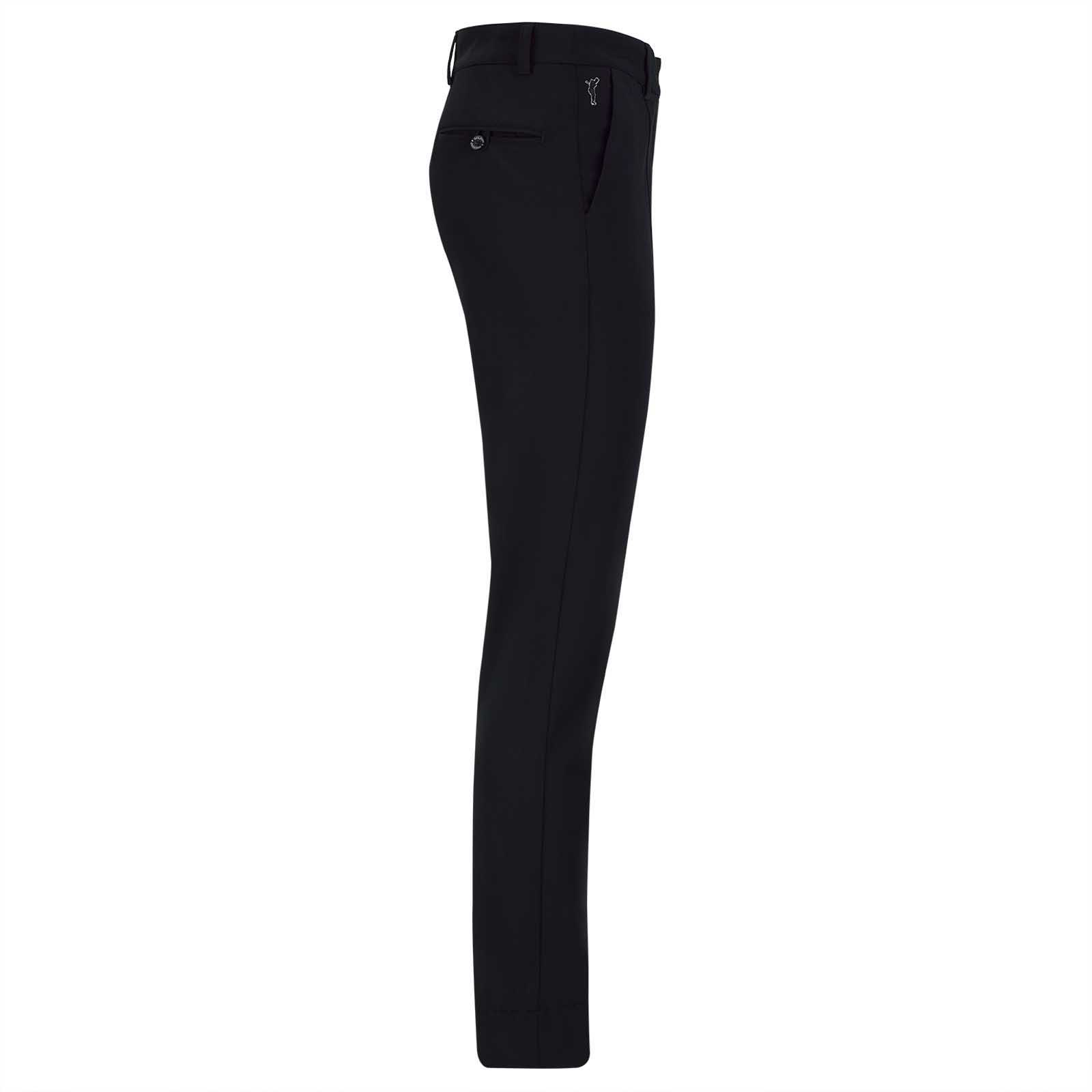 Damen Stretch Golfhose aus feinem Cotton-Blend in Slim Fit