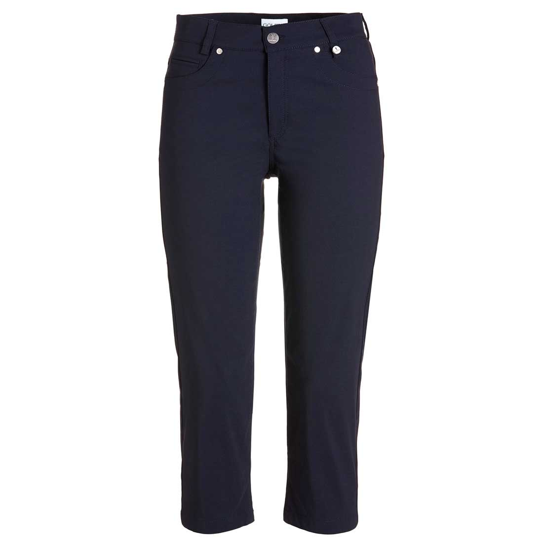 Ladies Techno Stretch Capri trousers with Moisture Management and Sun Protection function