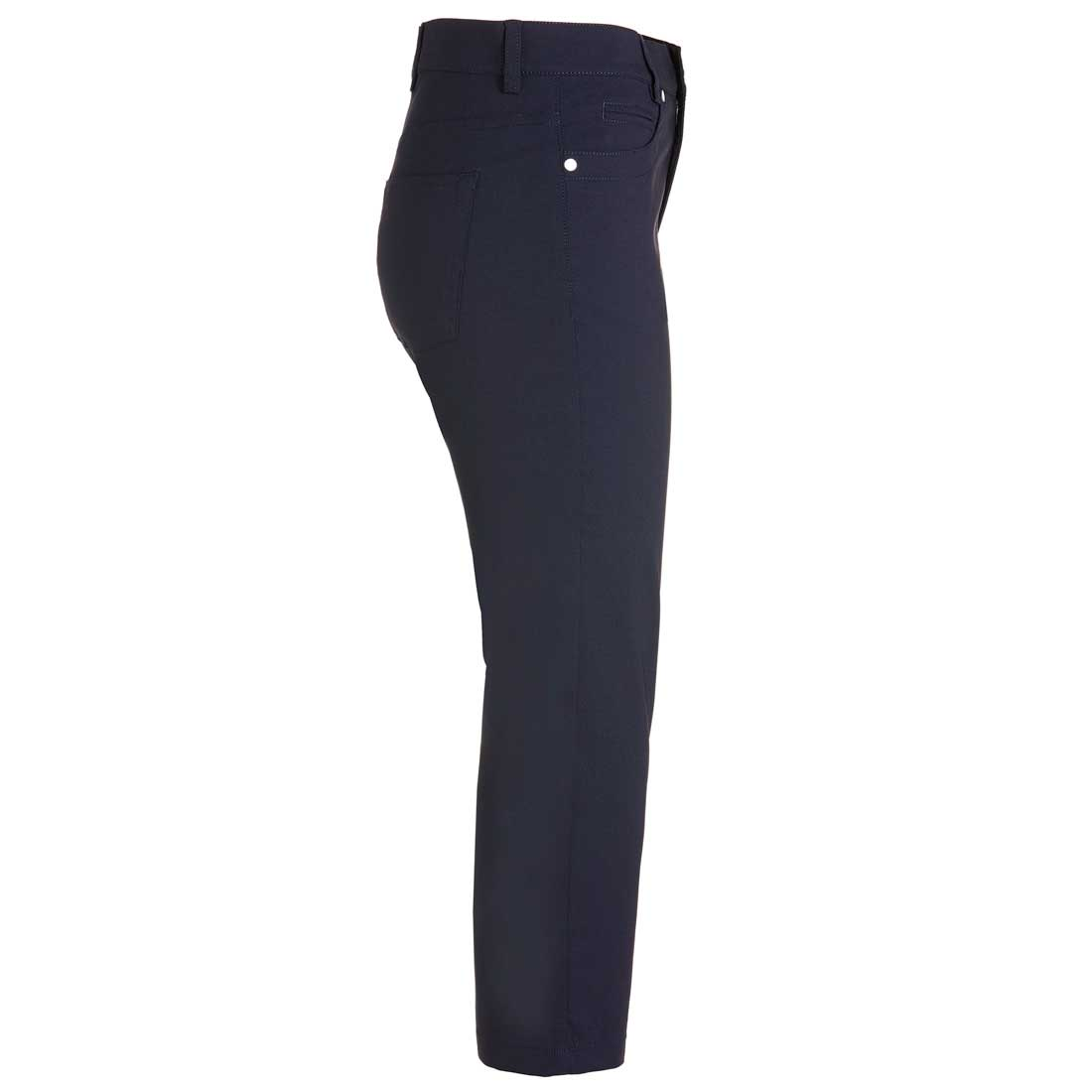 Damen Techno Stretch Caprihose mit Moisture Management und Sun Protection
