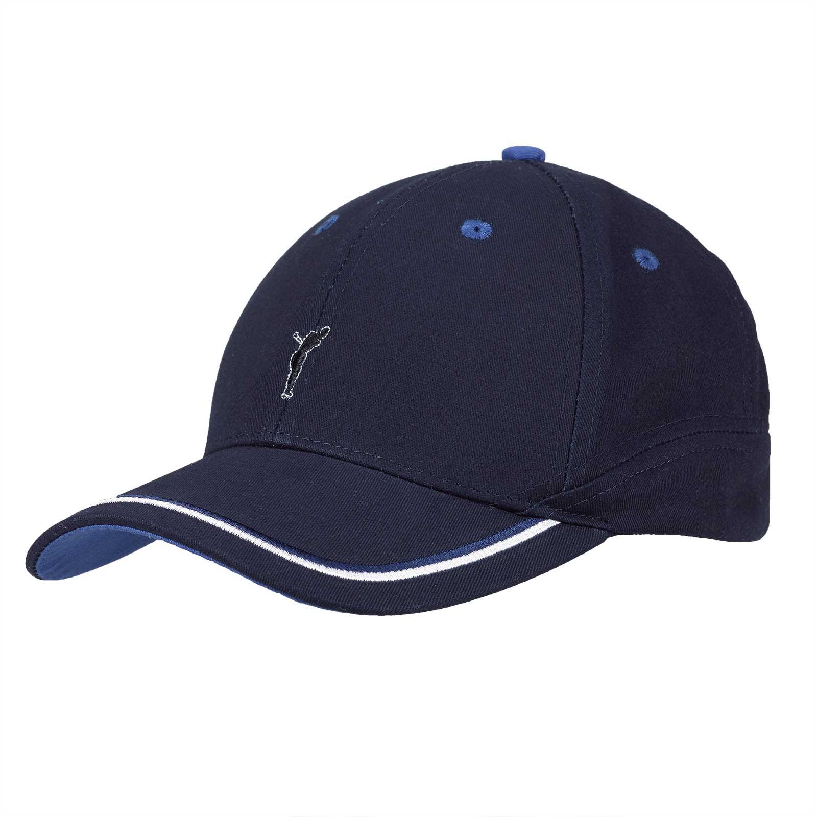 Herren Baumwoll Logo-Golfcap Onesize