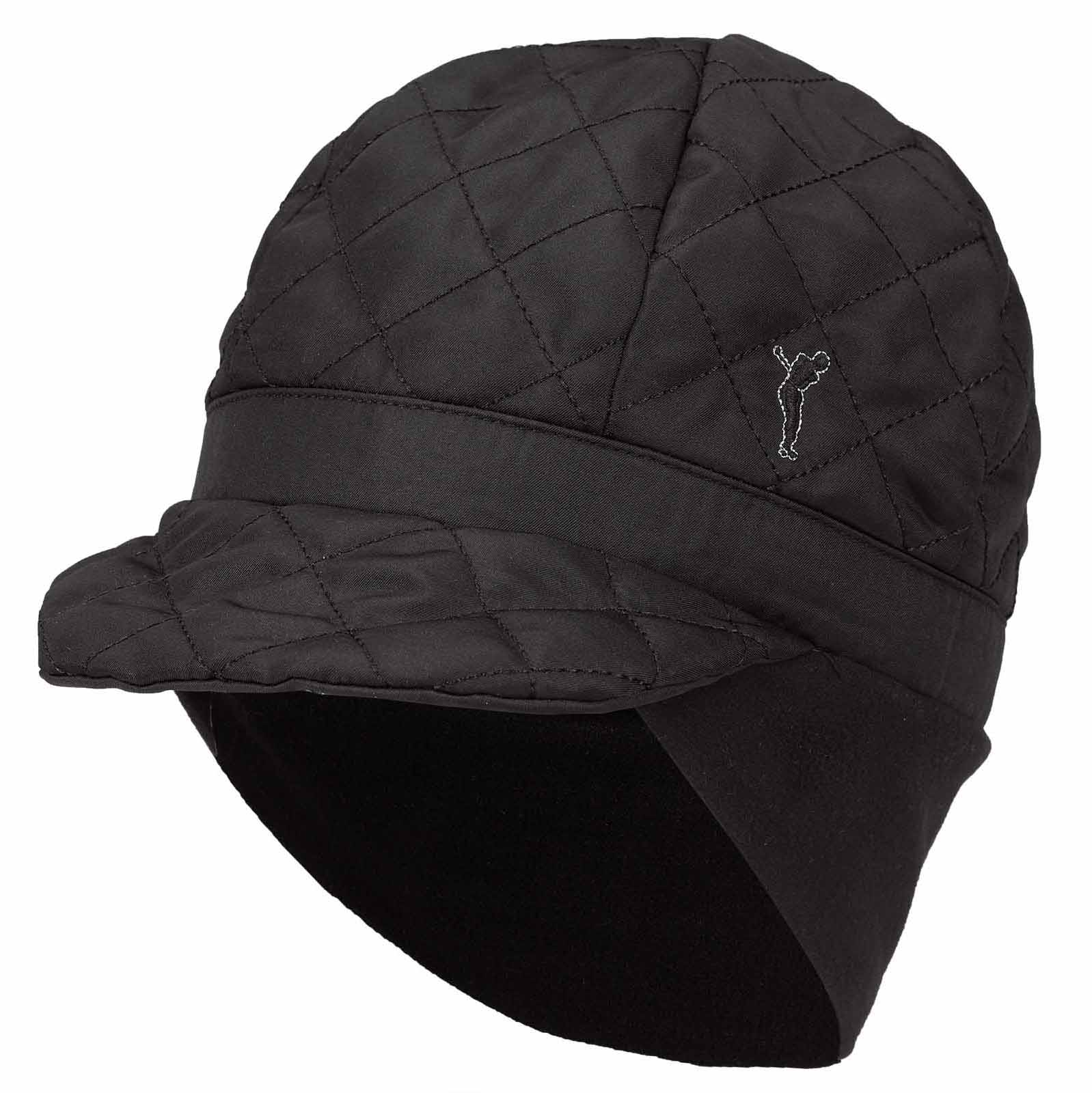 Warming Arctic Winter Ladies' golf hat with quilted pattern
