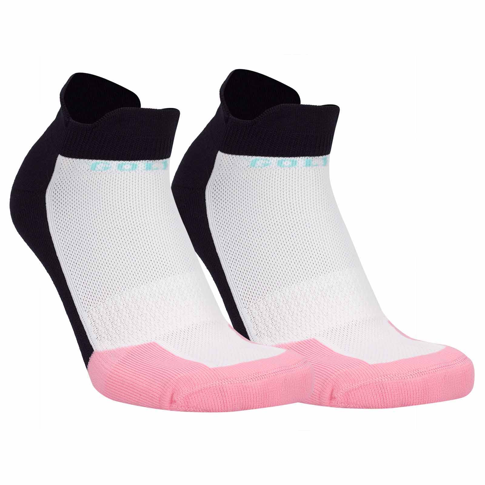 Ladies' Dry Comfort thermal golf socks with overlapping cuffs