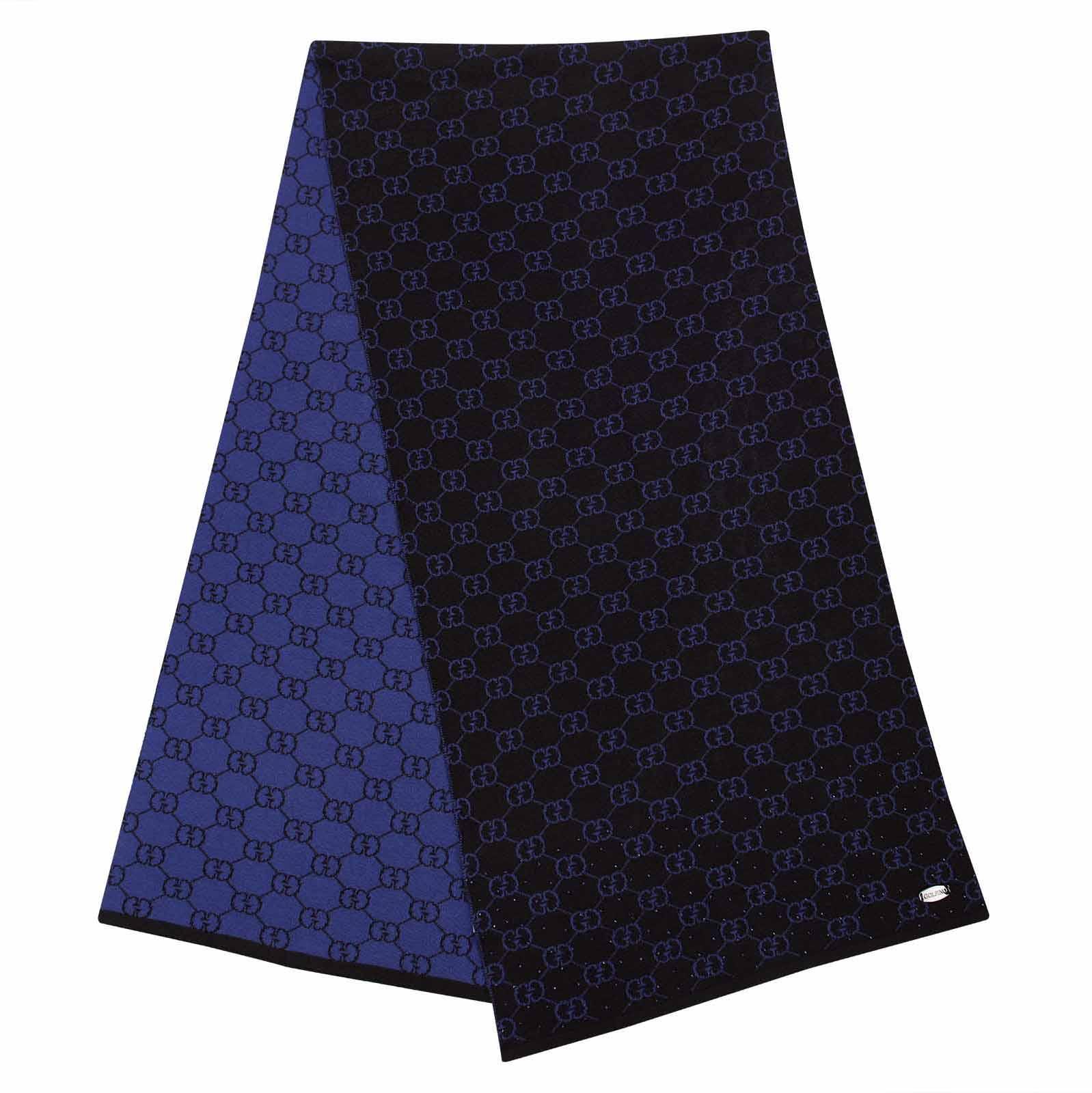 Weicher Damen Schal mit Muster aus feiner Woll-Mischung