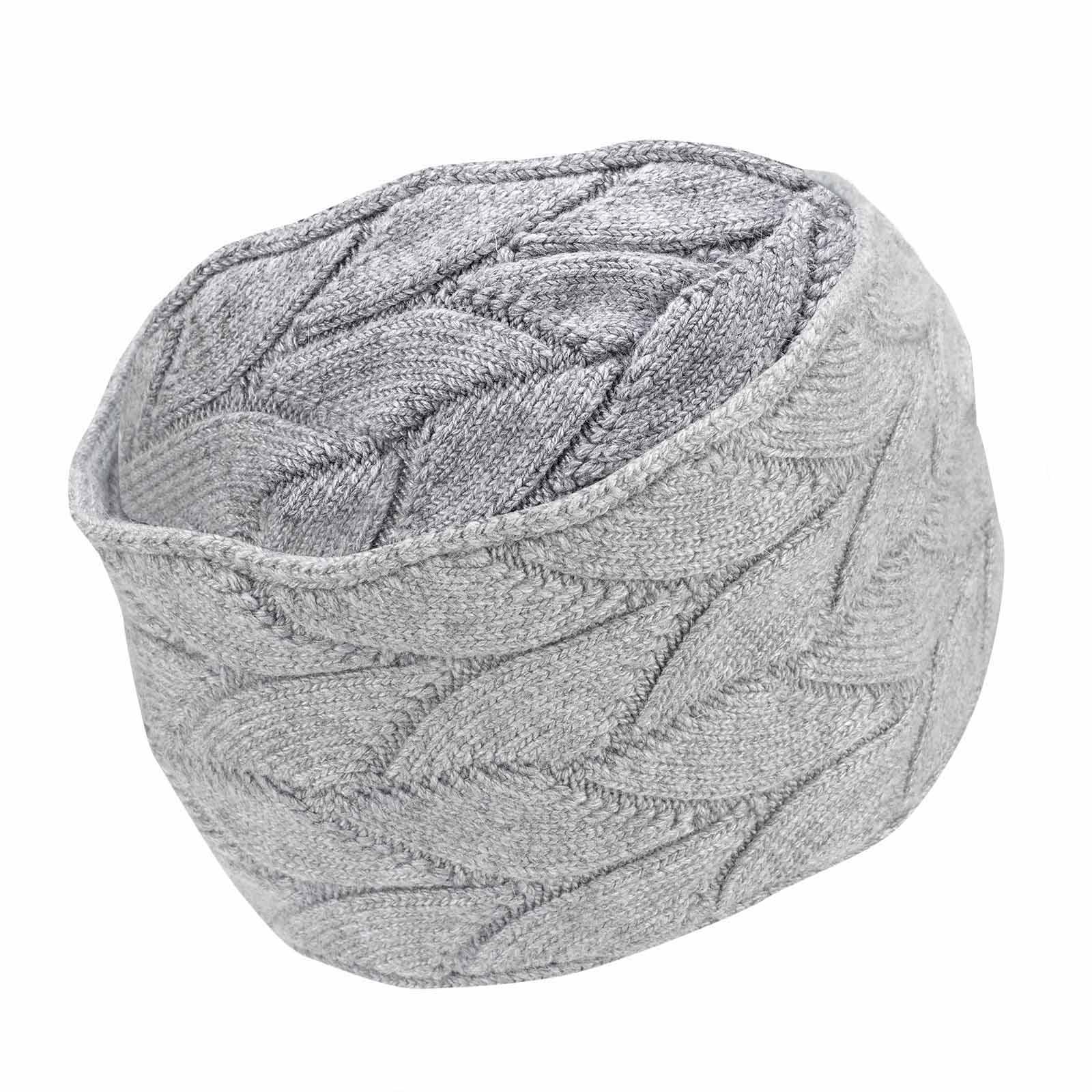 Cold Protection Damen Stirnband mit Ohrenschutz aus feinem Strickmaterial