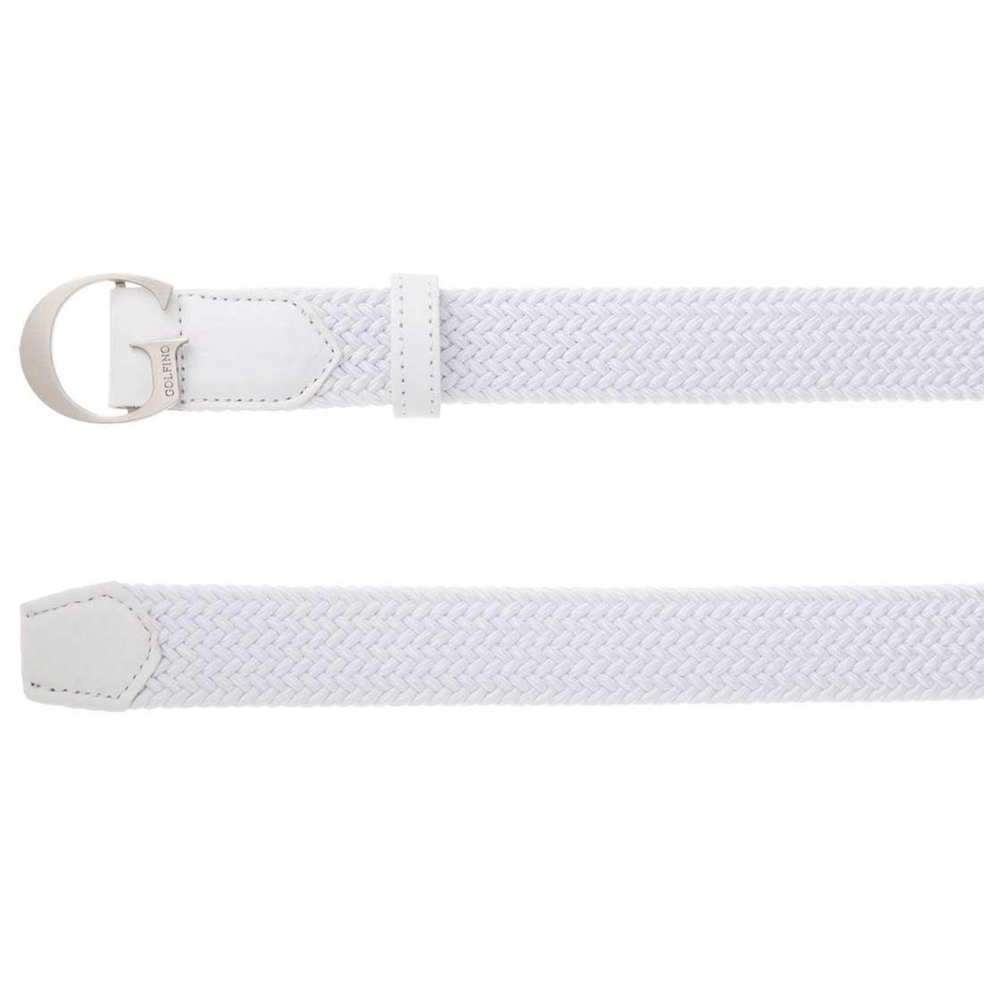 Damen Golf-Ledergürtel mit G-Schließe und elastischem Element