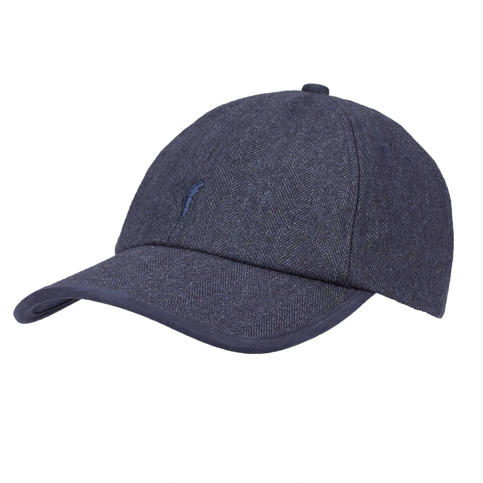High Tech Herren Funktions-Golfcap mit Fischgrätmuster