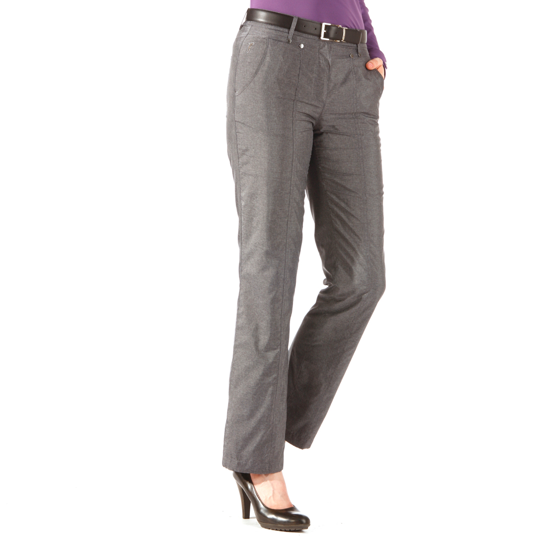 Damen Thermo Hose in Jeans-Optik