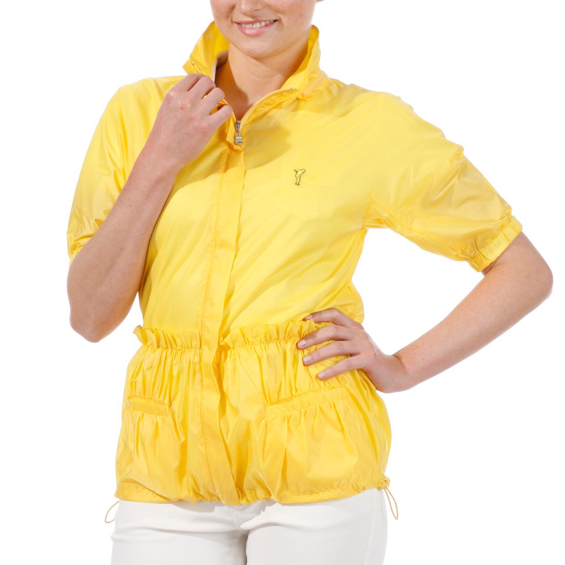 Damen-Kurzarmjacke aus sehr leichtem Material