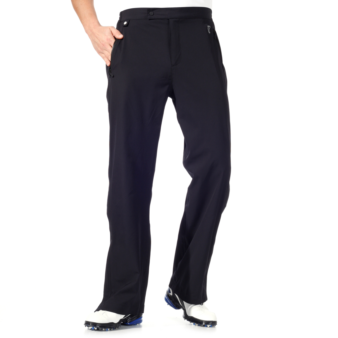 Stretch rainproof trousers