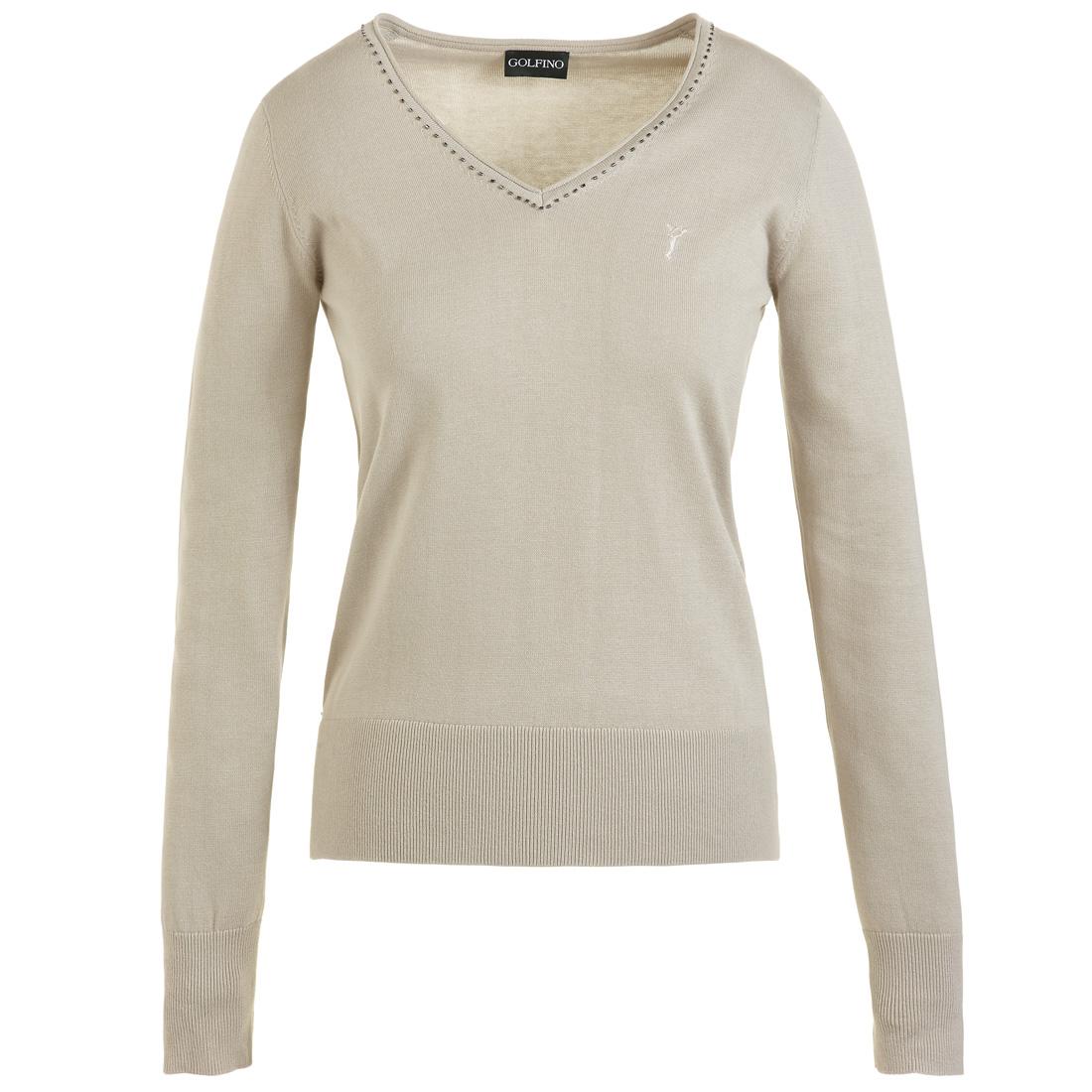 Super weicher V-Ausschnitt Pullover aus Pima Baumwolle