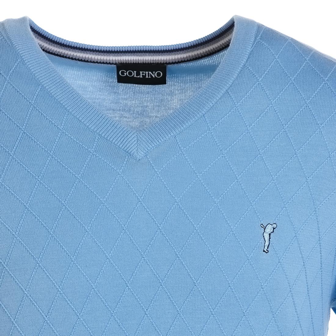 Extra feiner Pullover mit V-Ausschnitt