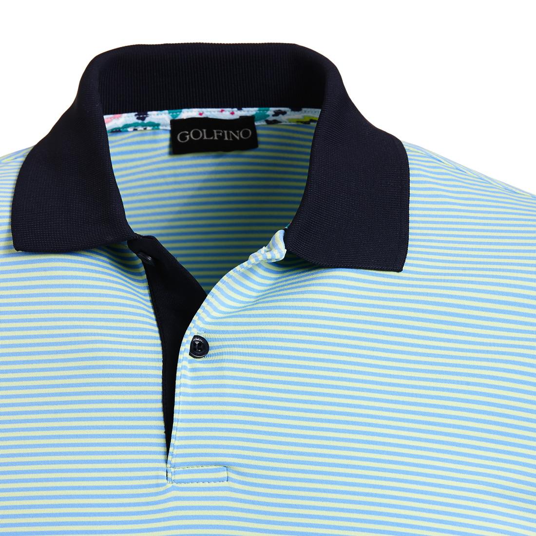 Gestreiftes Dry Comfort Poloshirt
