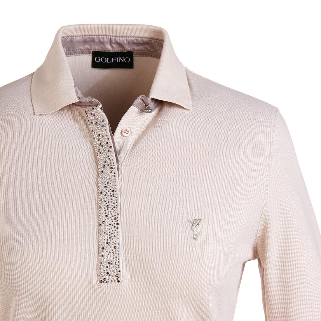 Poloshirt mit 3/4-Arm und Sonnenschutz
