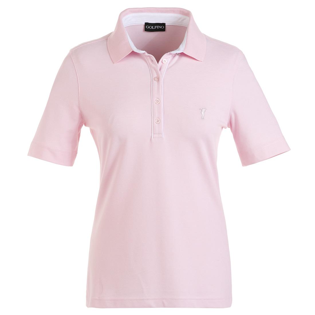 Baumwoll Stretch Poloshirt