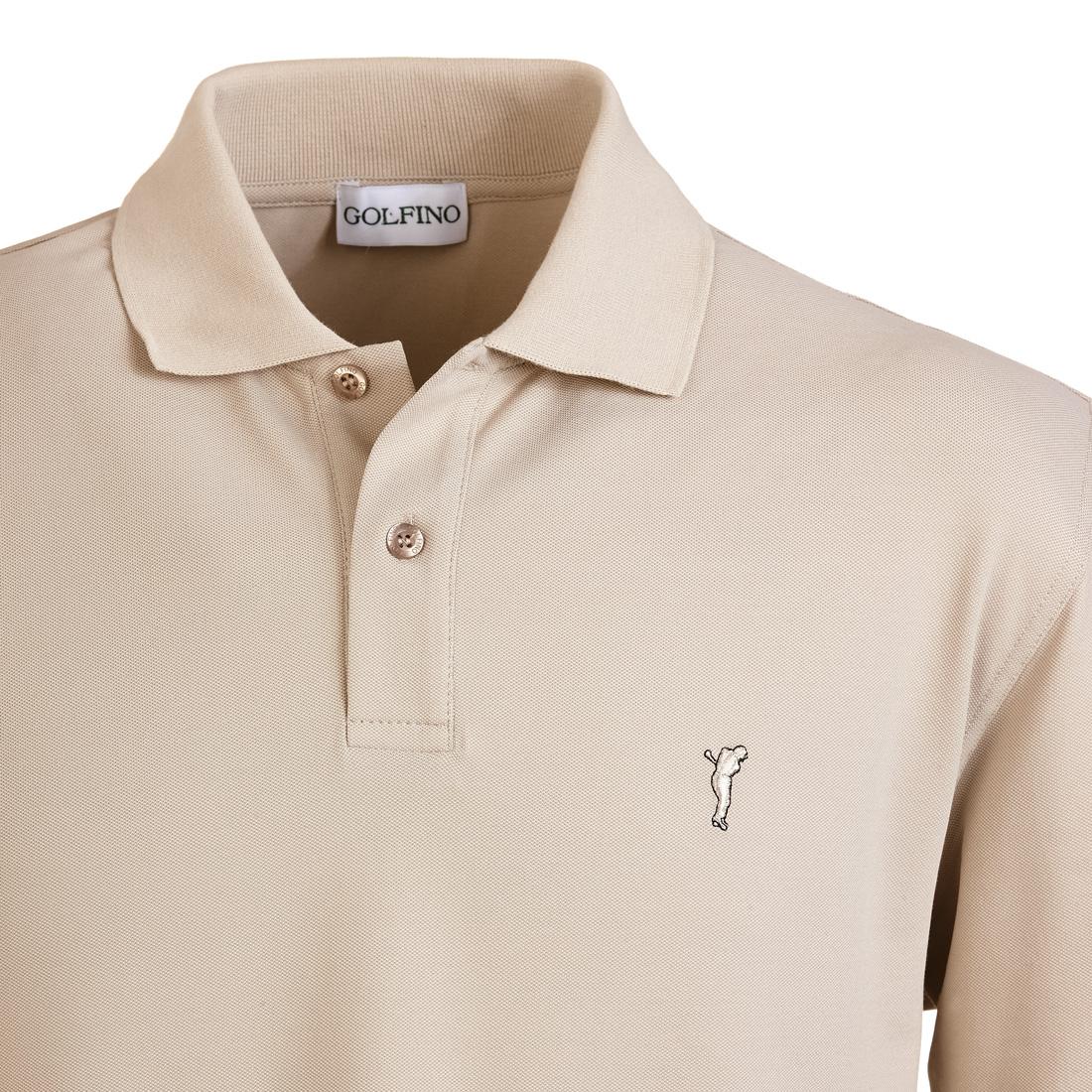 Langarm Poloshirt mit Sonnenschutz