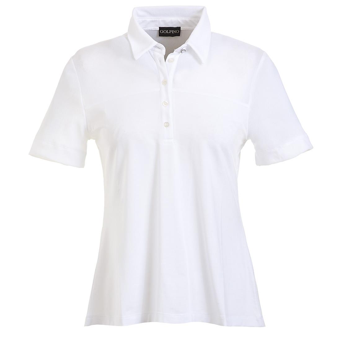 Weitgeschnittenes Kurzarm Poloshirt