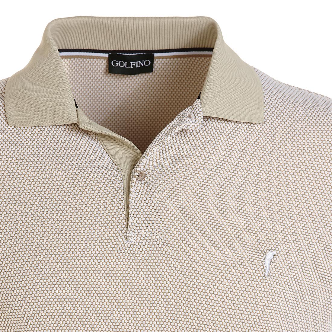 Bubble Jacquard Poloshirt