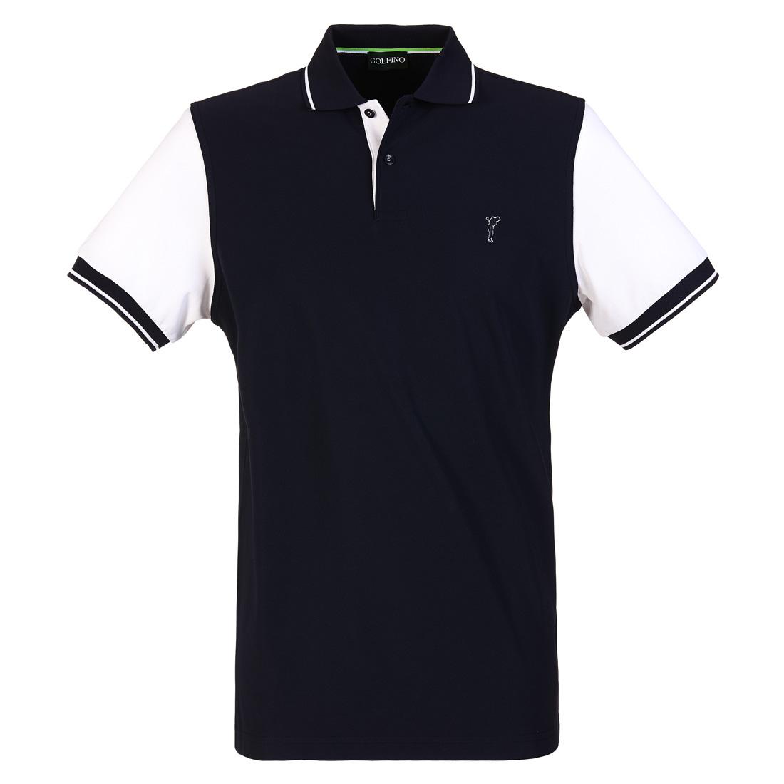 Extra Dry Poloshirt mit Kontrast Ärmeln