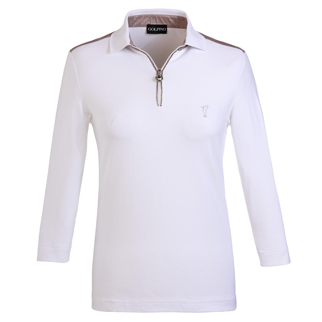 Dry Comfort Poloshirt mit 3/4-Arm